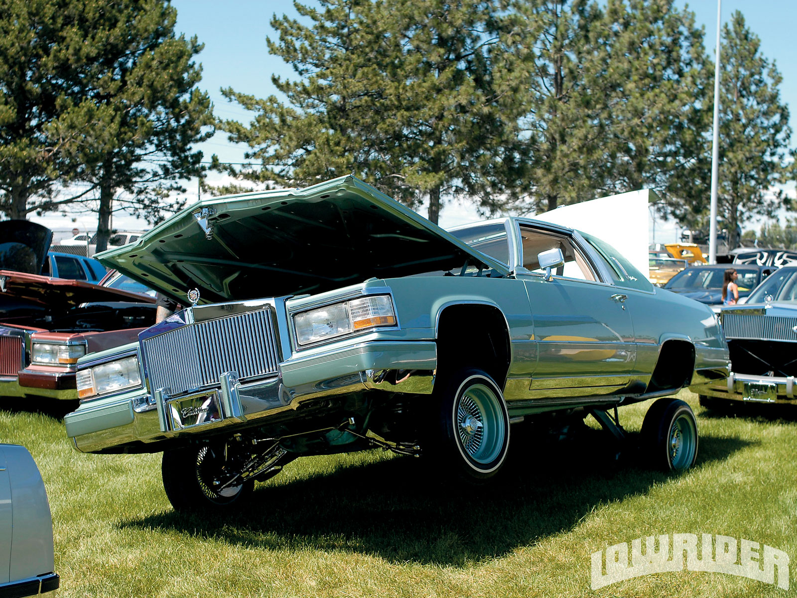 Cars With Hydraulics: Lowcos' 4th Annual Car Show