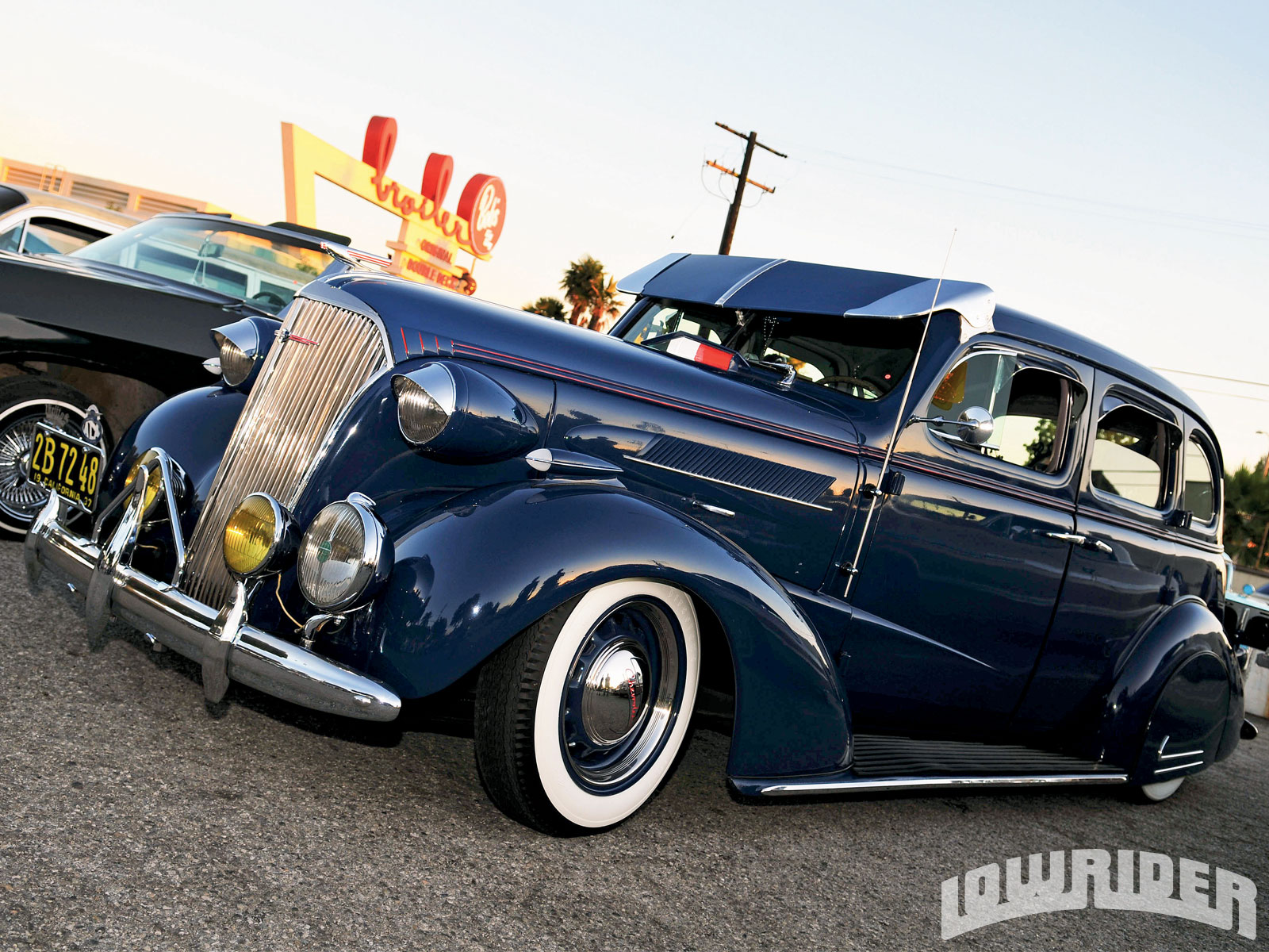 Vintage Bombs South Side Car Club Cruise Night Lowrider