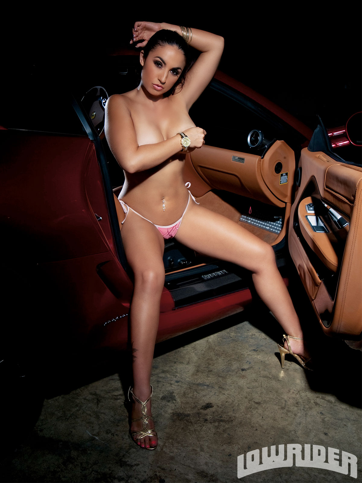 Naked lowrider hot model