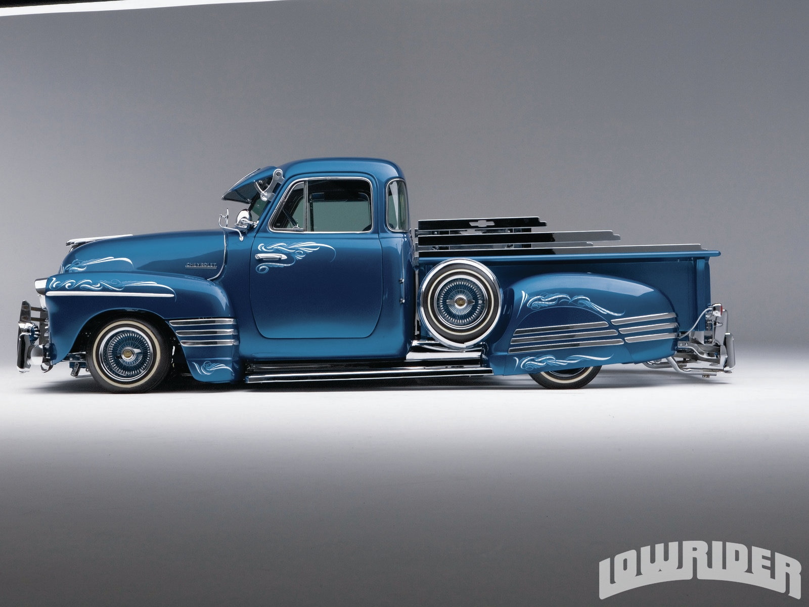 1951 Chevrolet Truck Lowrider Magazine Paint Colors 2 12