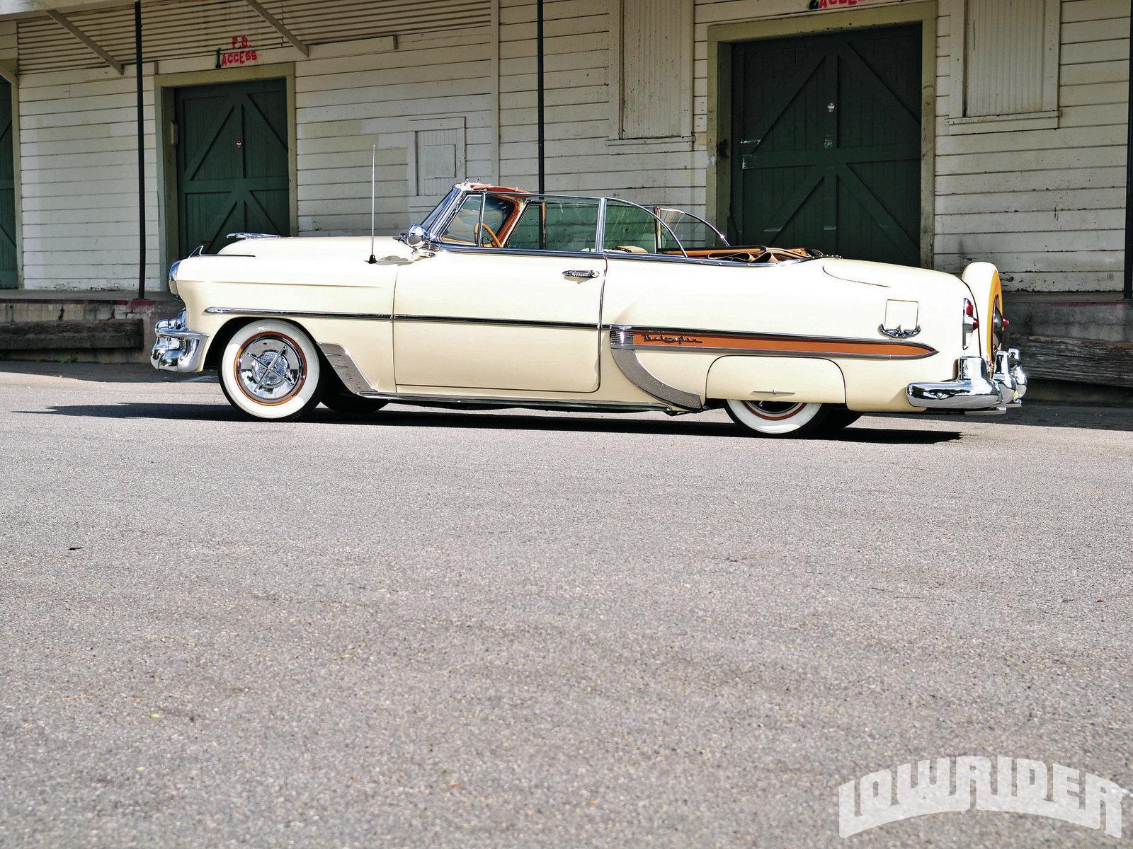 1953 Chevrolet Bel Air Lowrider Magazine