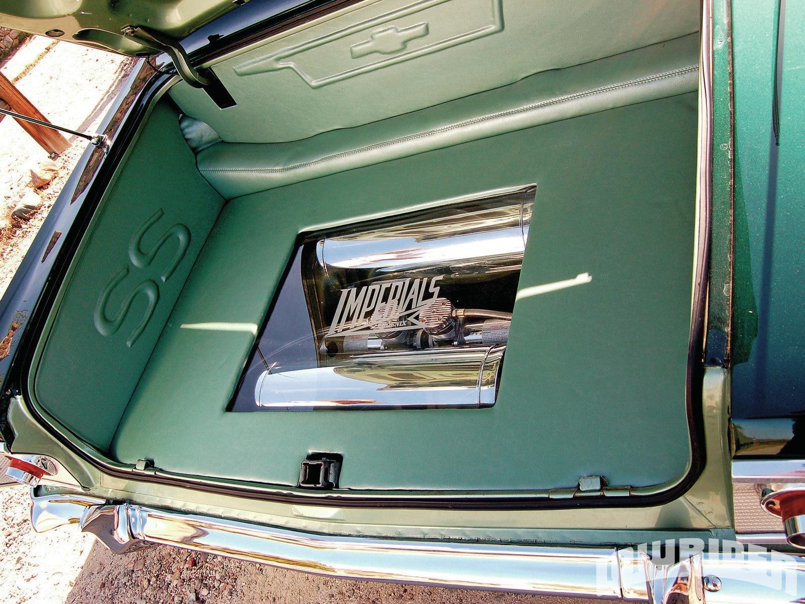 Lrmp O Chevrolet Impala Ss Custom Trunk Interior