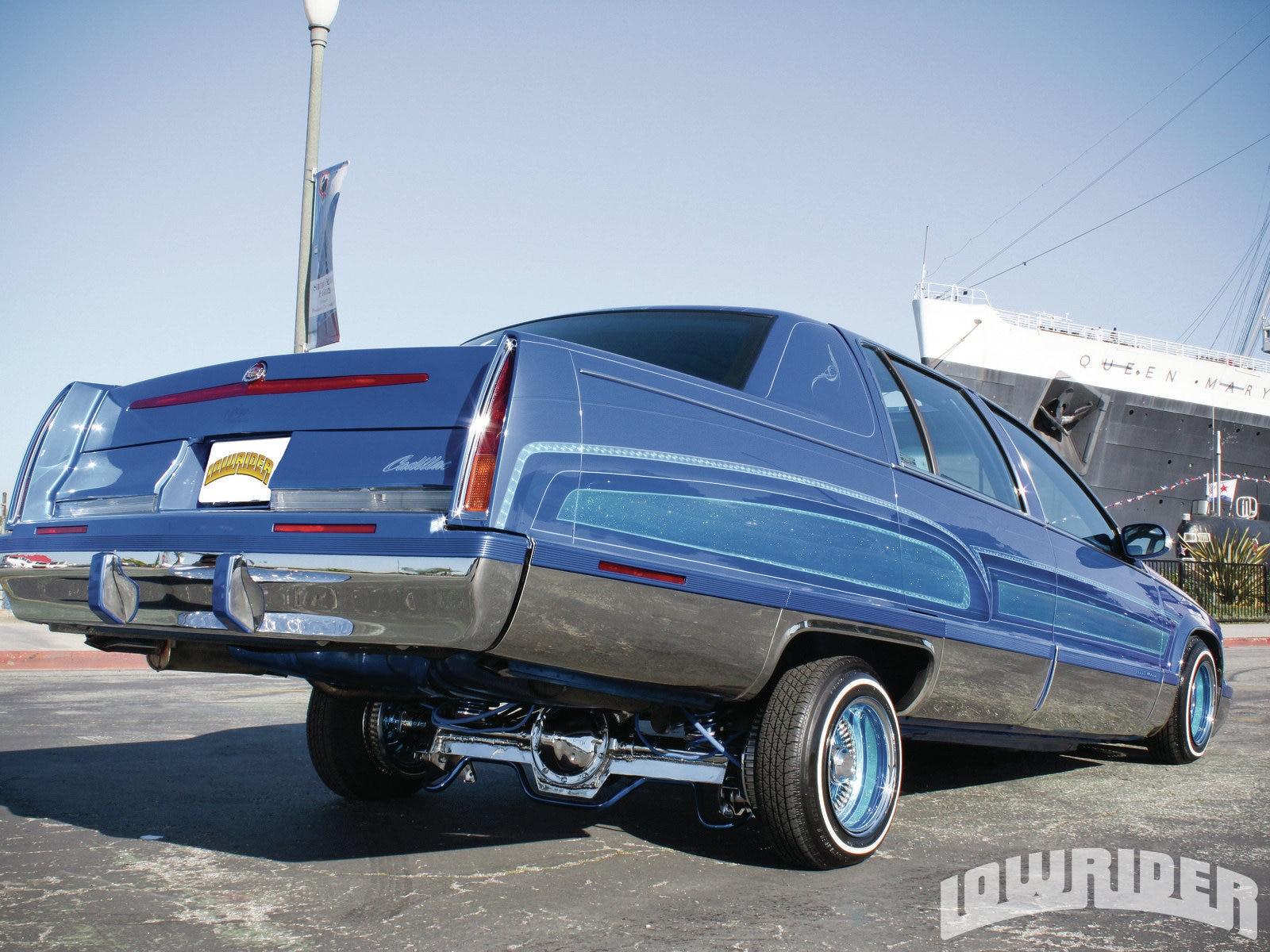 Lrmp Z Cadillac Fleetwood Brougham Rear View