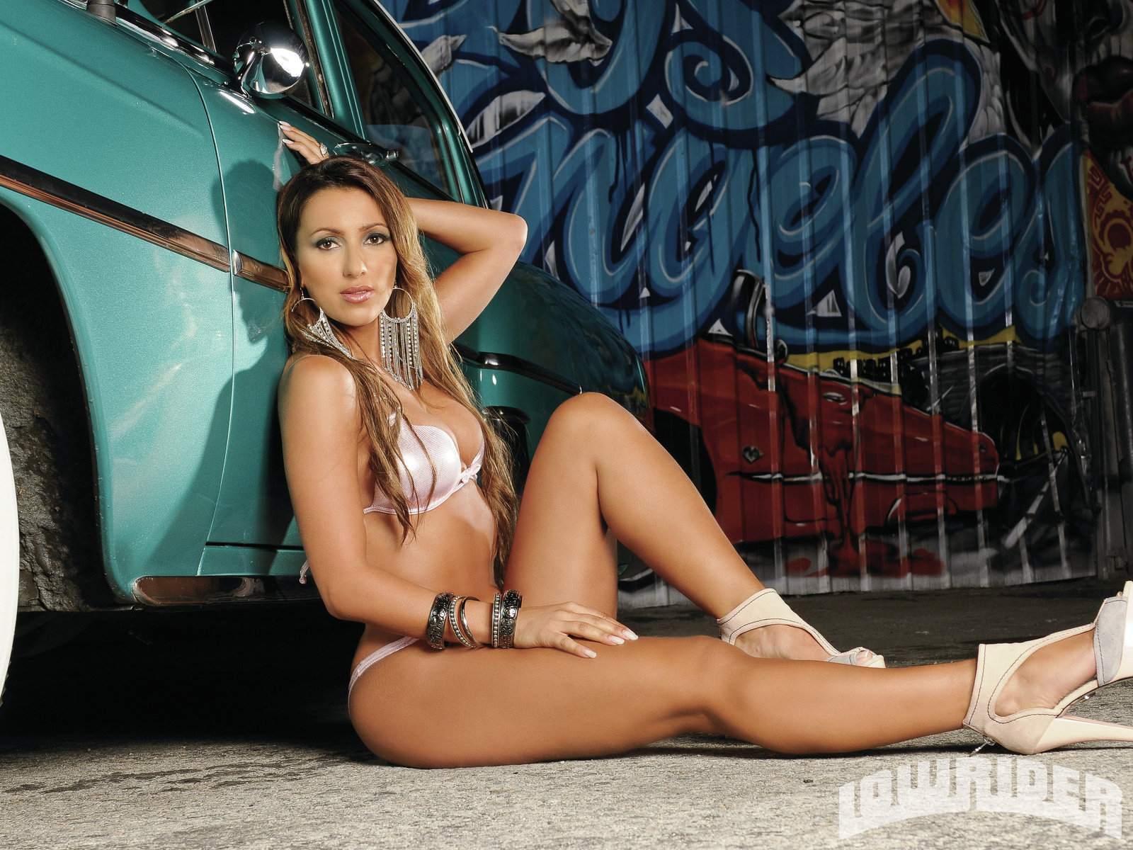 Metisha Lowrider Girls Model Lowrider Girls Magazine