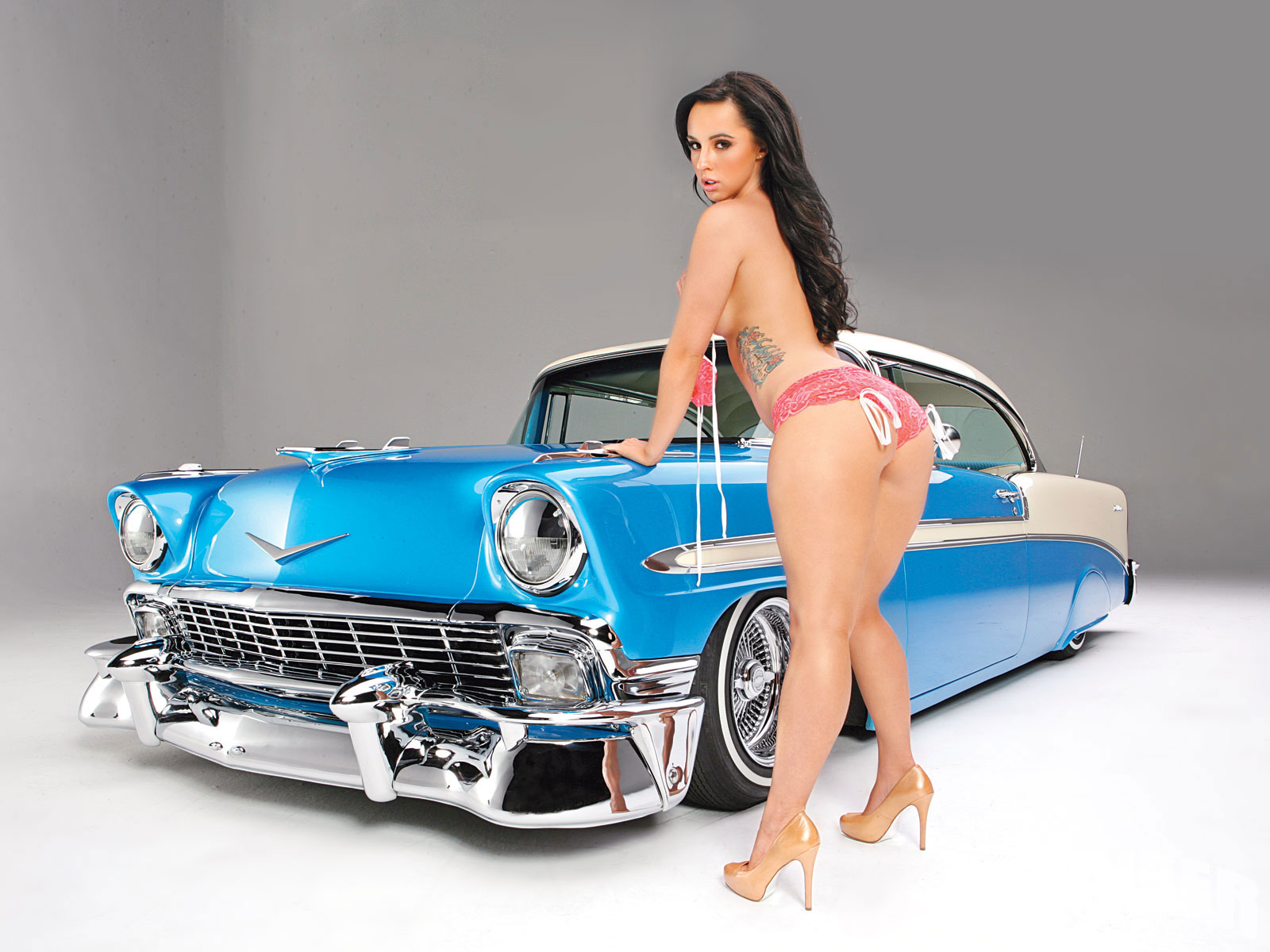 Lowrider cars with girls consider