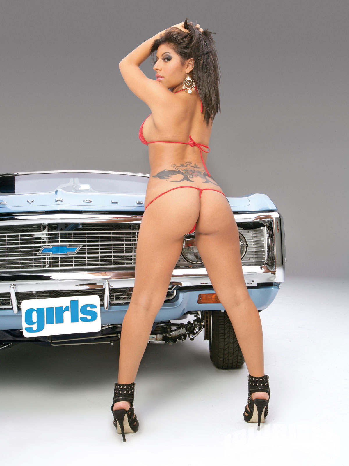 Naked sexy lowrider girls
