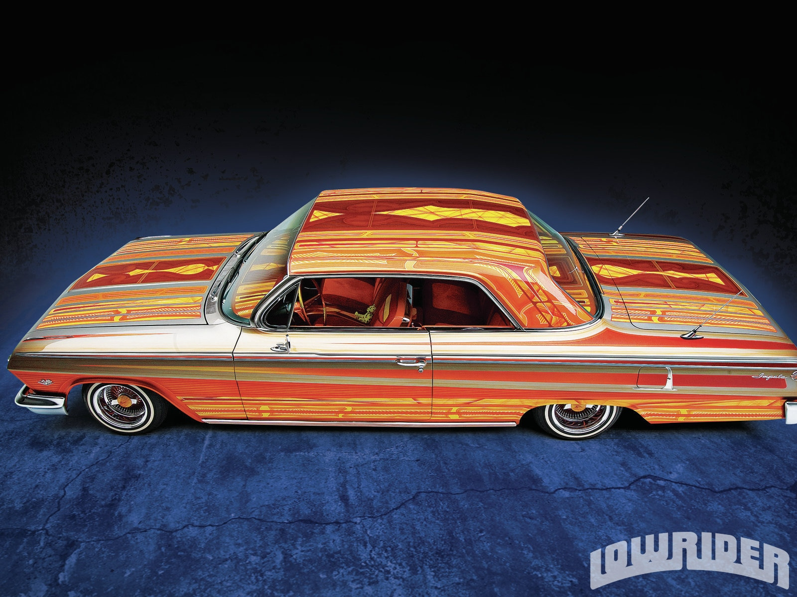 b3a295758664d 1962 Chevrolet Impala SS - Lowrider Magazine
