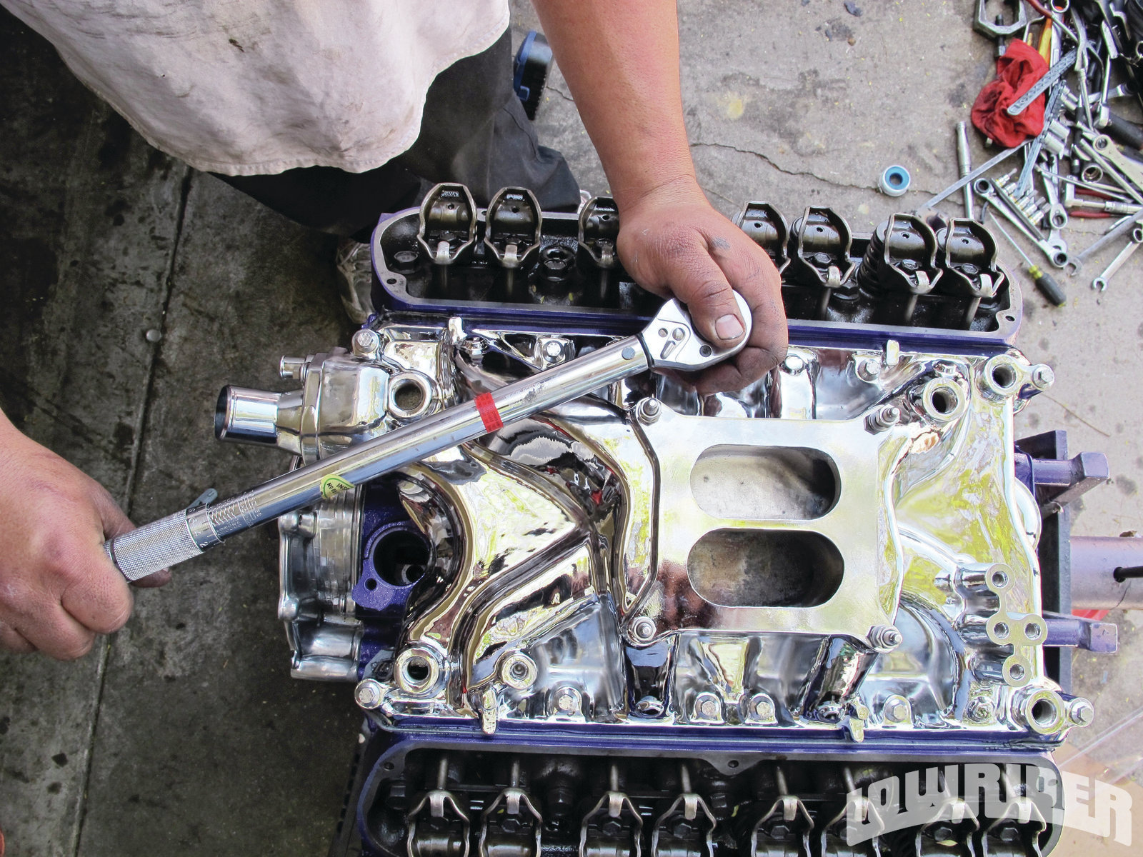Impp Z Small Block Ford Windsor Build Plated Intake