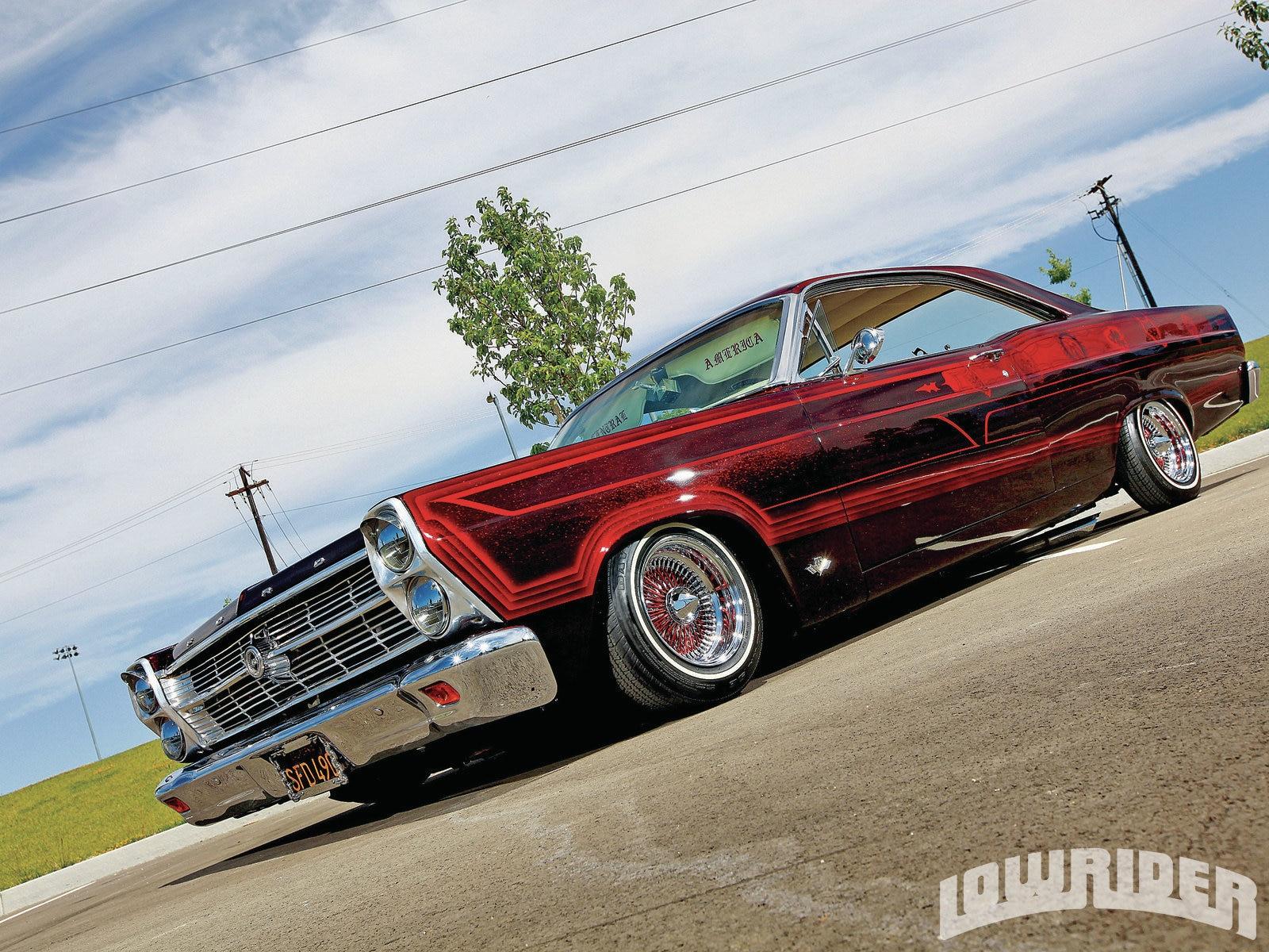 10 2 Wire >> 1966 Ford Fairlane 500 - Lowrider Magazine