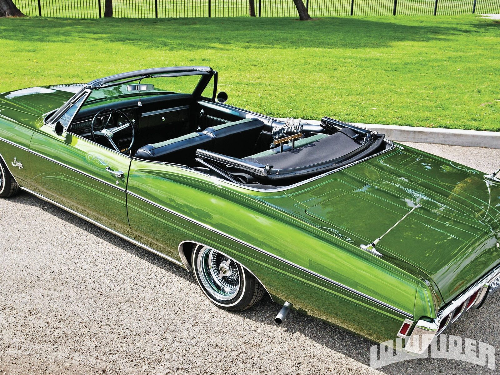 1968 Chevrolet Impala Convertible Lowrider Magazine