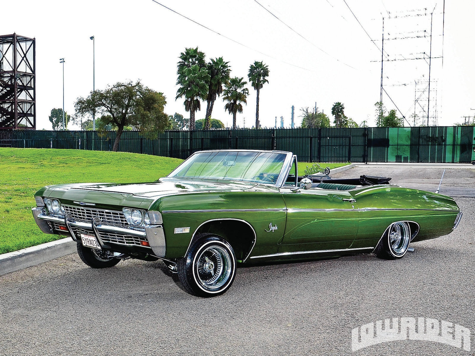 1968 Chevrolet Impala Convertible Dirty Money Green