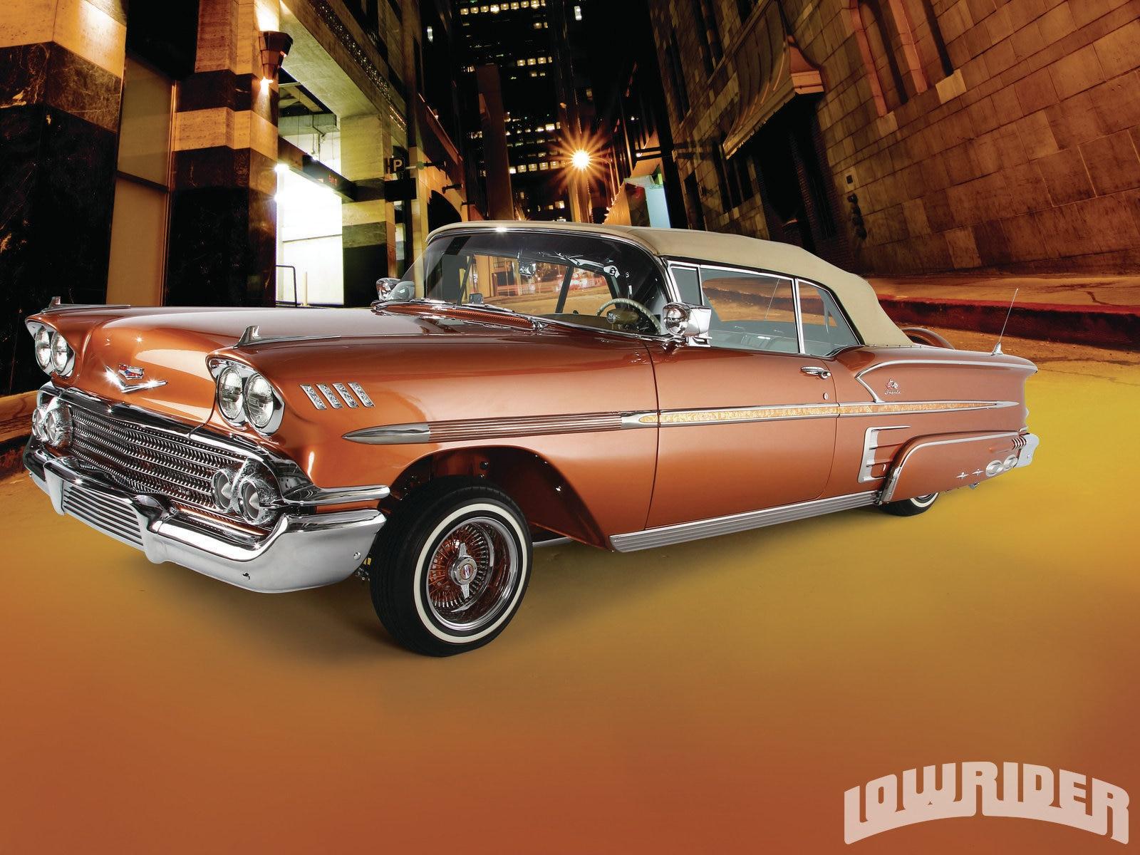 1958 Chevrolet Impala Convertible Lowrider Magazine