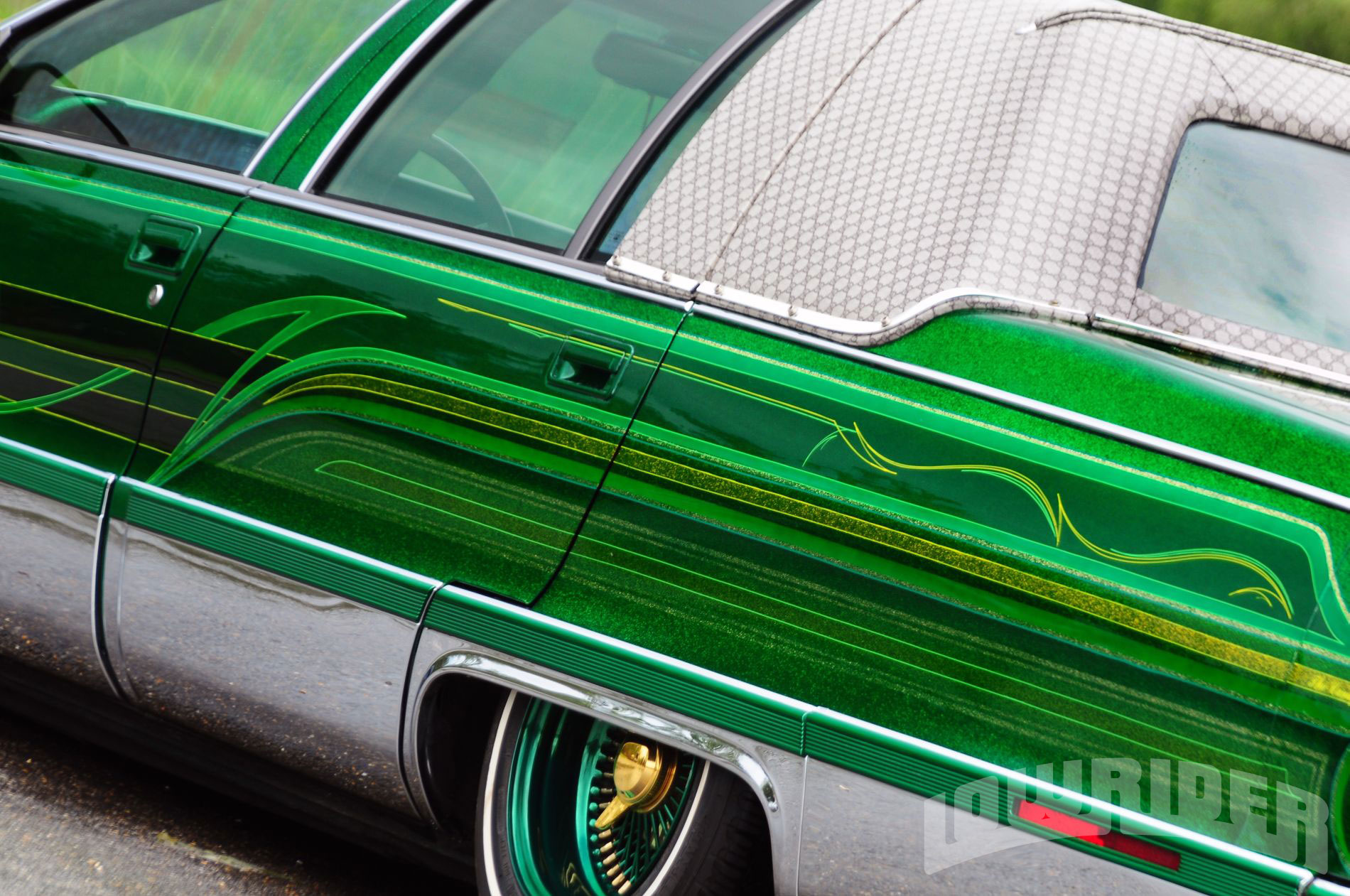 Lrmp O Cadillac Fleetwood Custom Paint