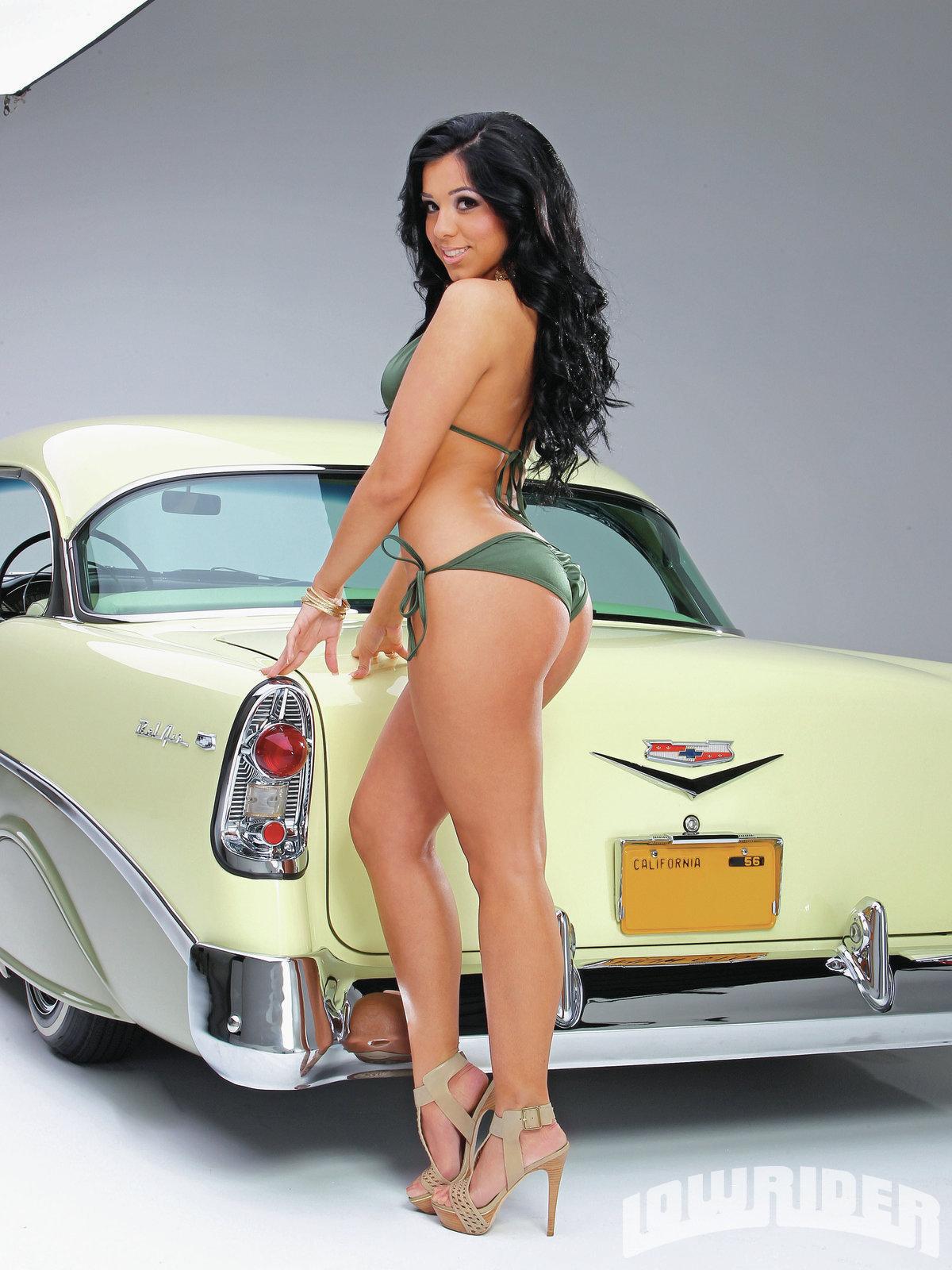 """Cynthia """"Sin"""" Rodriguez - Lowrider Girls Model - Lowrider ..."""