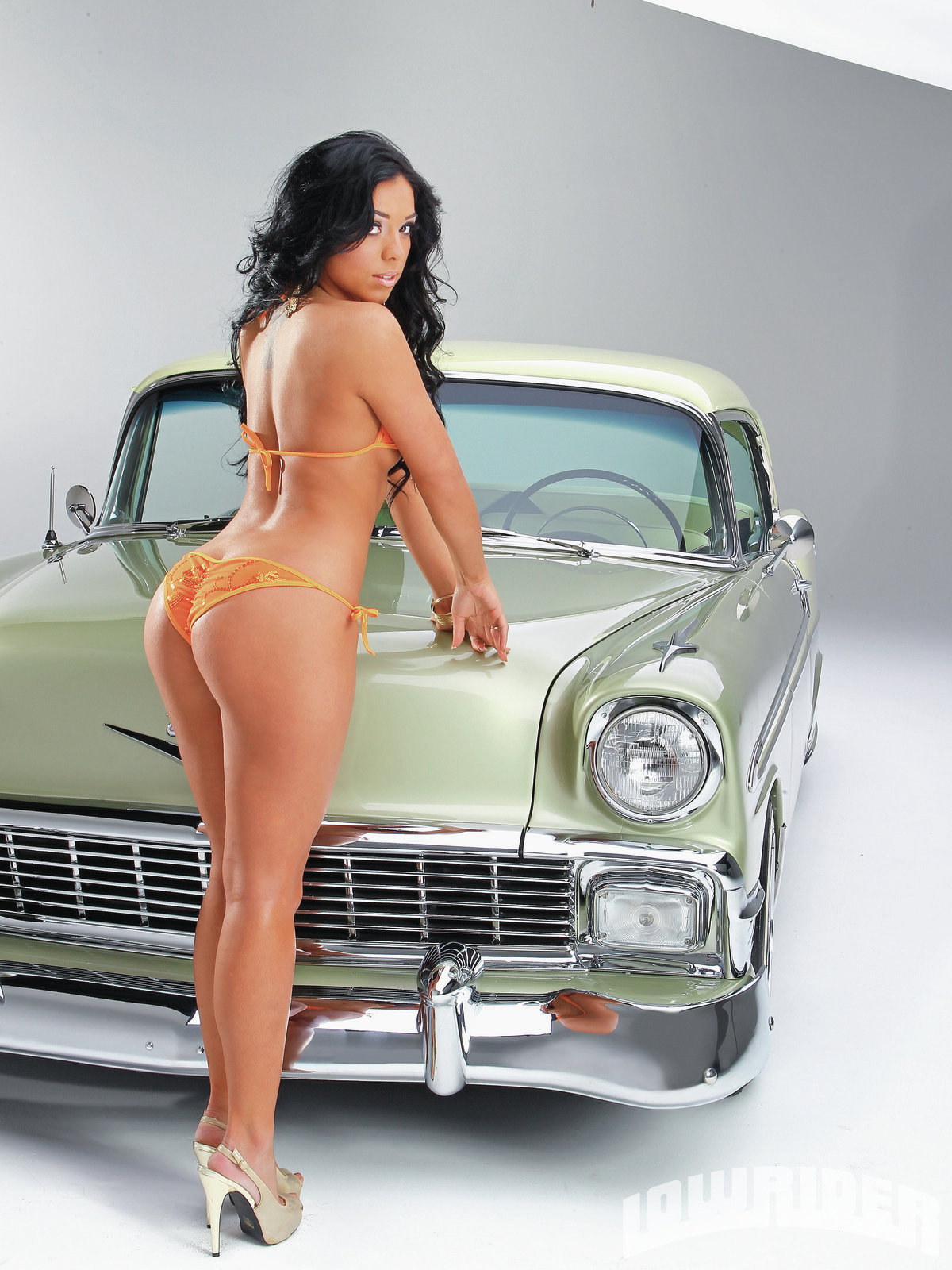 Topless lowrider magazine girls