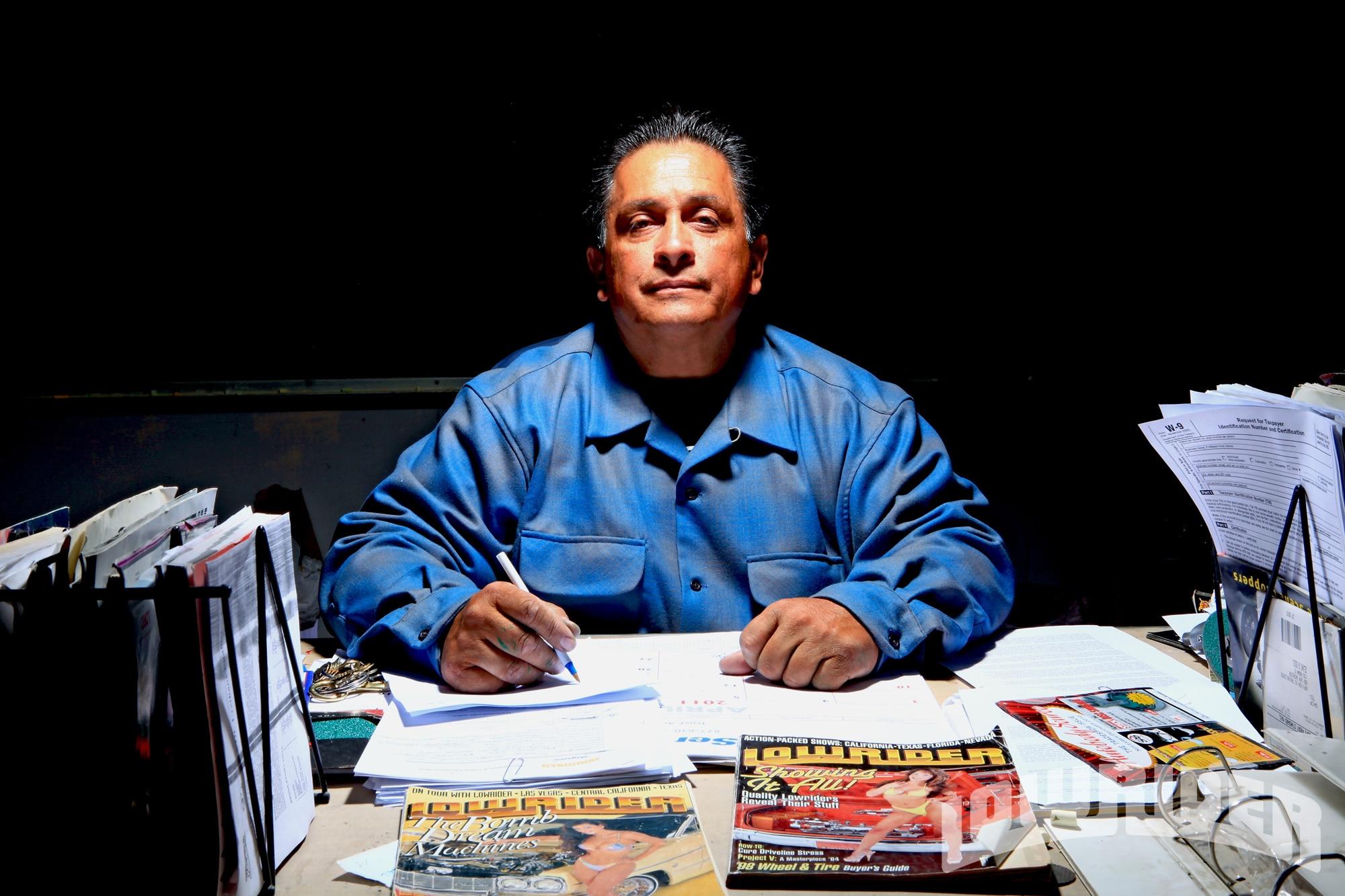 Frank Sugar Bear Silva Lowrider Magazine