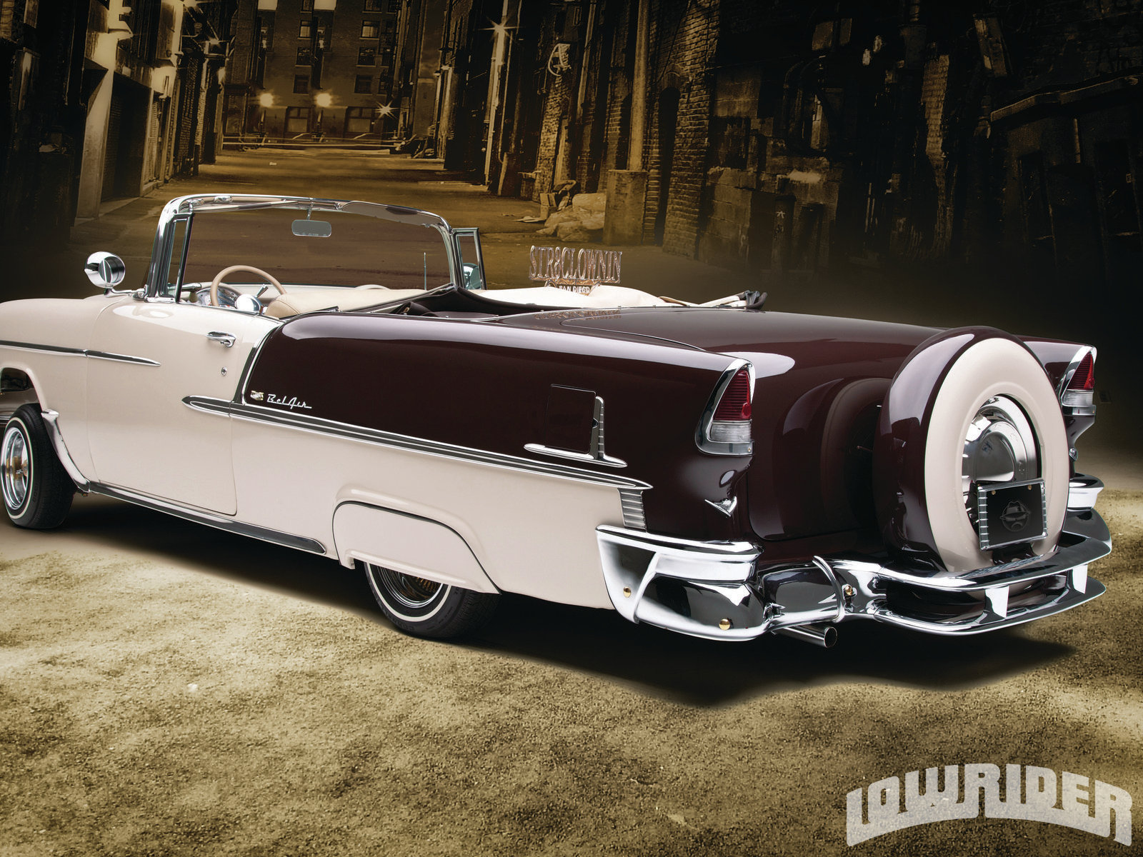 1955 Chevrolet Bel Air - Lowrider Magazine