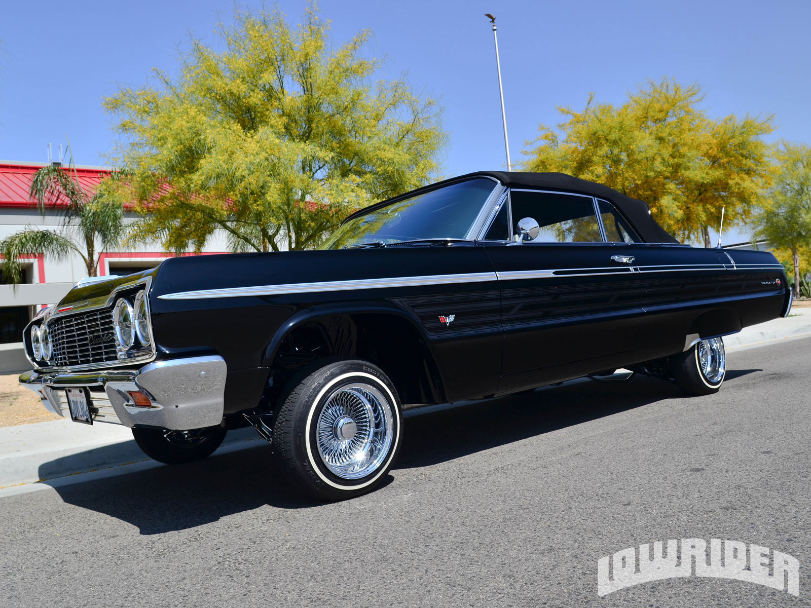 2008 Impala Ss For Sale >> 1964 Chevrolet Impala SS Rag Top - Lowrider Magazine