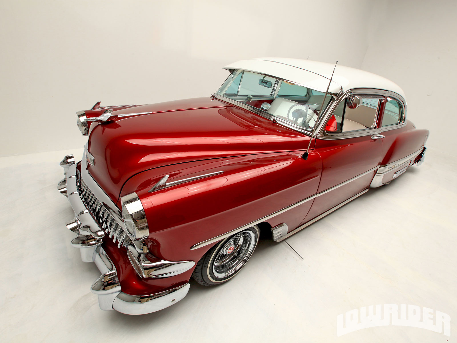 1954 Chevy Bel Air Lowrider Magazine Chevrolet 4 Door 3 18