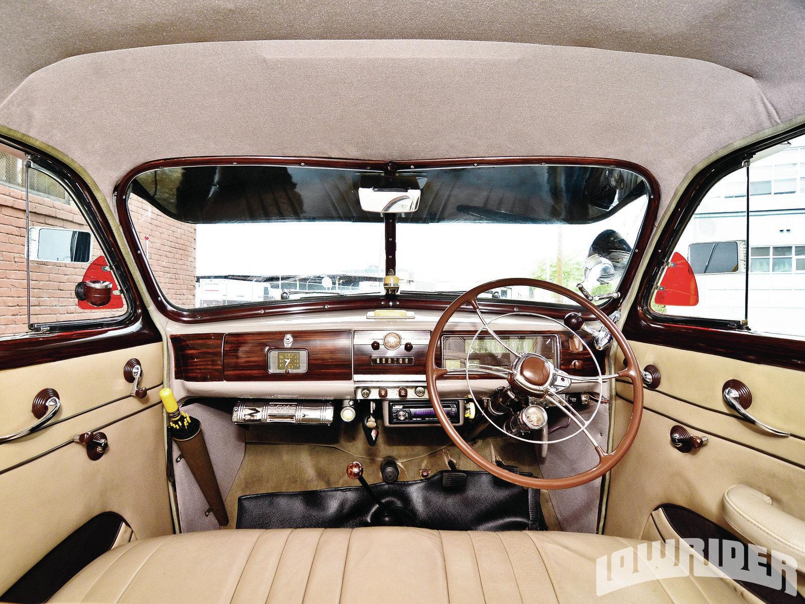 1939 Right-Hand Drive Chevrolet Sedan - Lowrider Magazine
