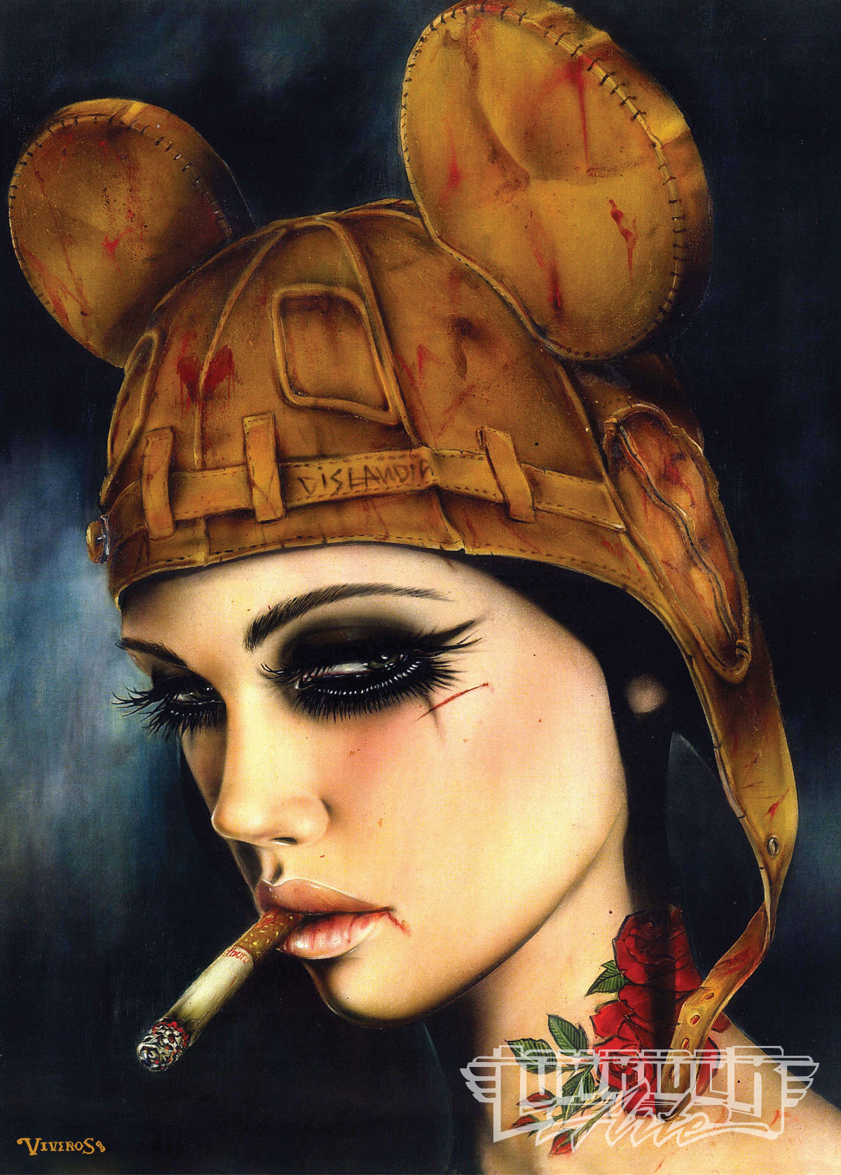 Brian M. Viveros - Lowrider Arte Magazine