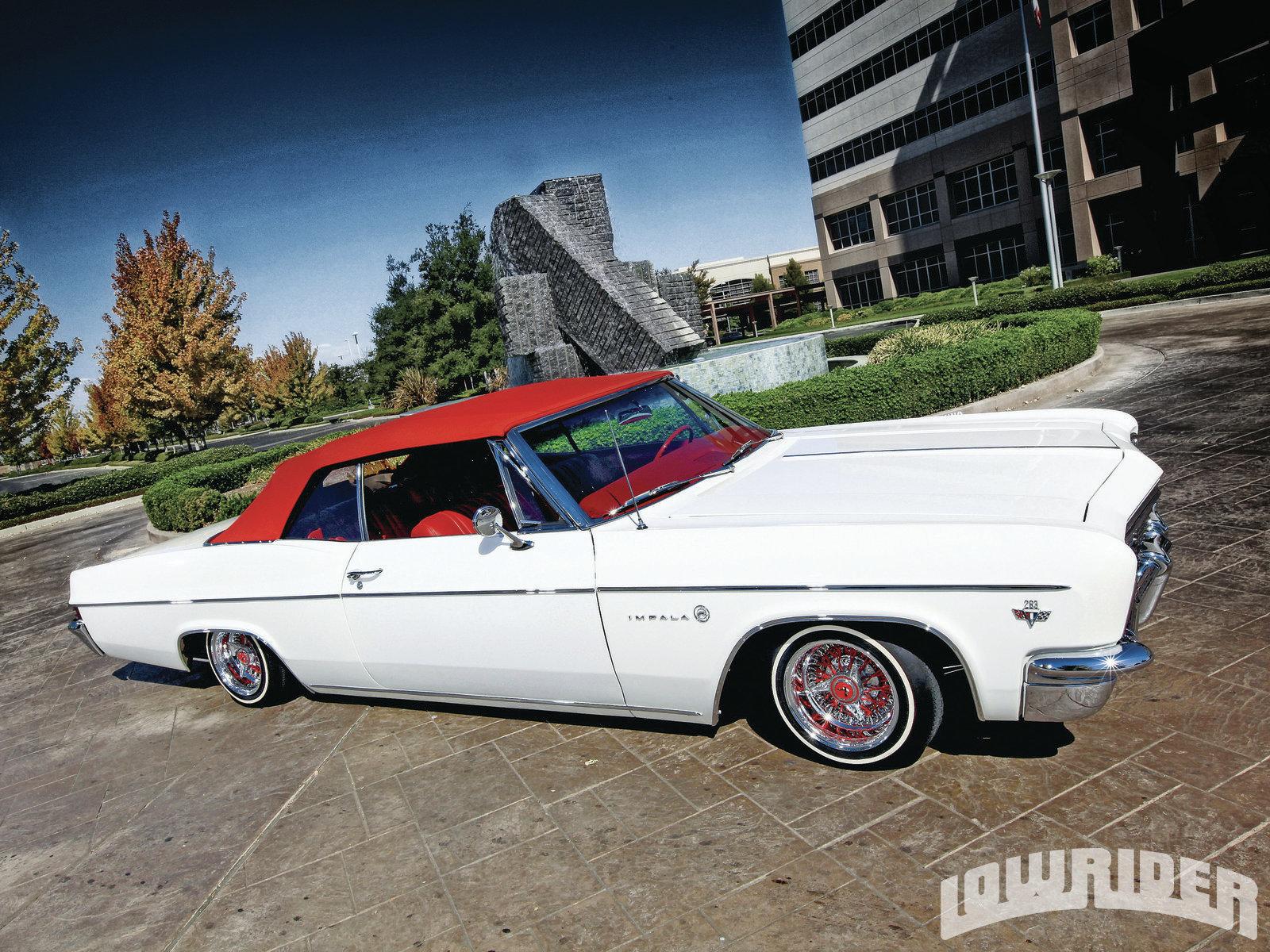 1966 Chevrolet Impala Convertible - Lowrider Magazine