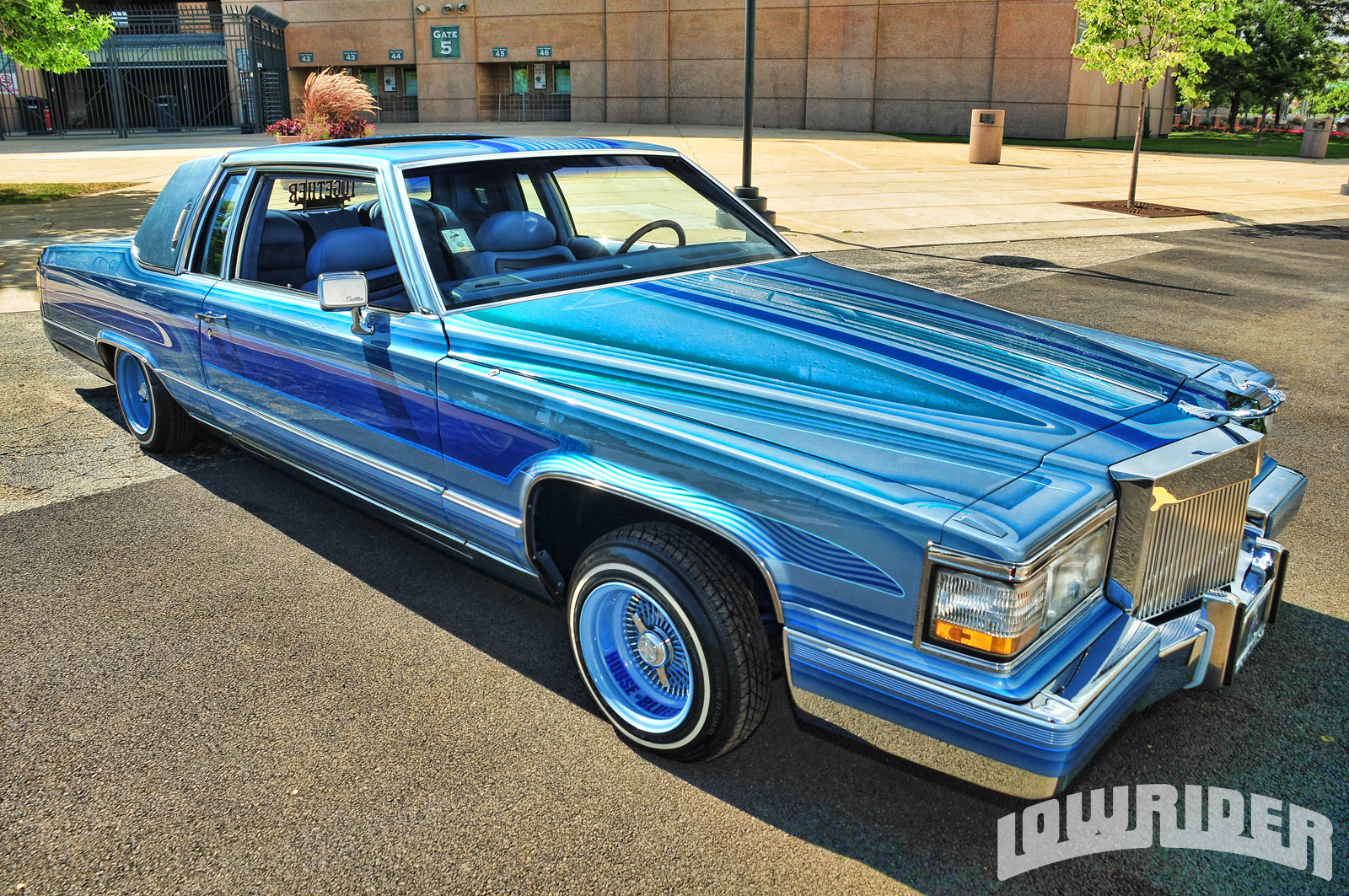 1982 Cadillac Coupe De Ville - Lowrider Magazine