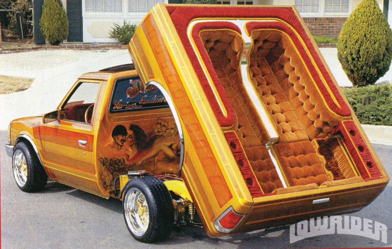 Lrmp O The Changing Lowrider Scene Custom Lowrider Truck on 02 Cavalier Custom