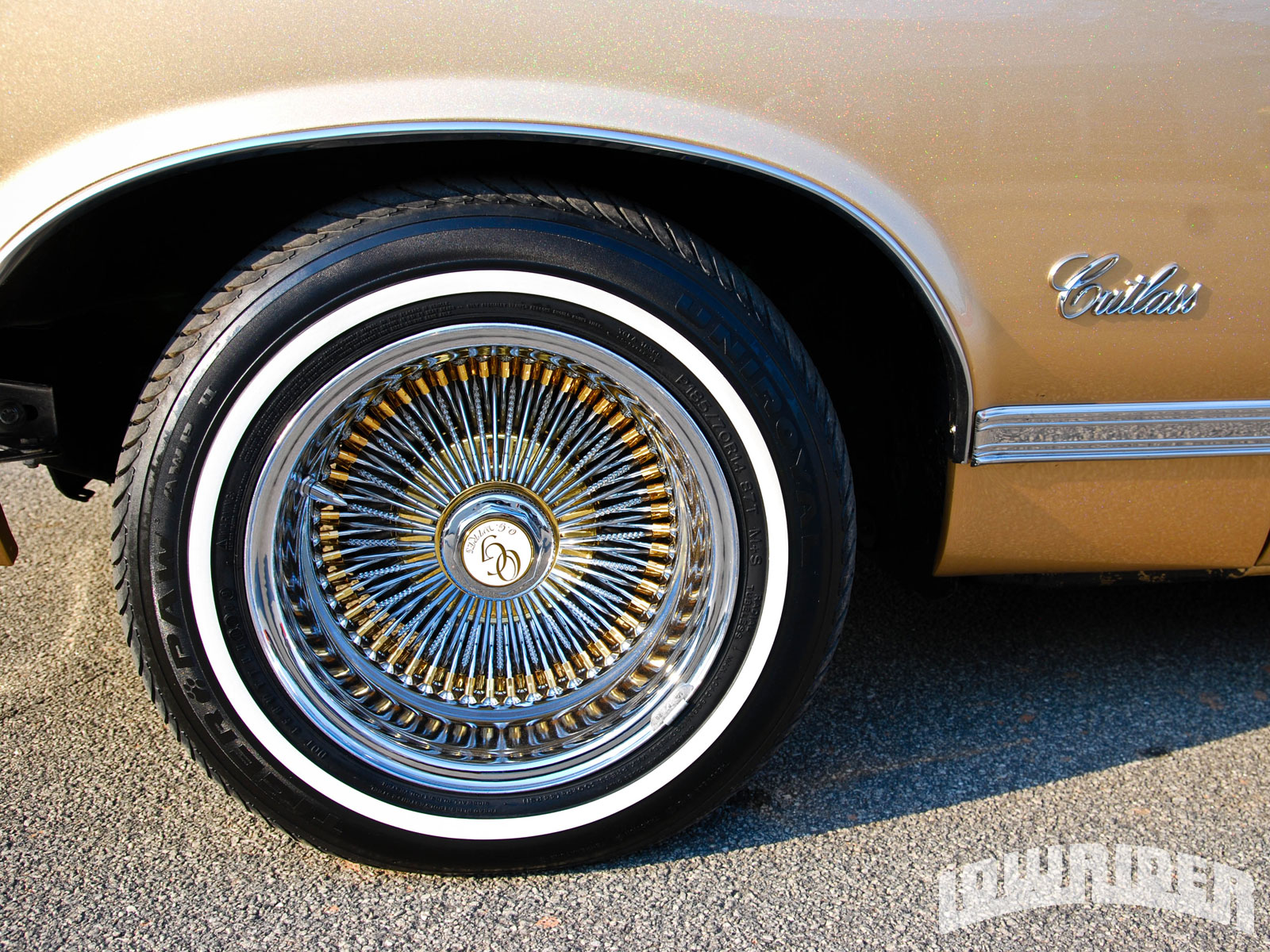 Lowrider Rims And Tires >> 1971 Oldsmobile Cutlass - Lowrider Magazine