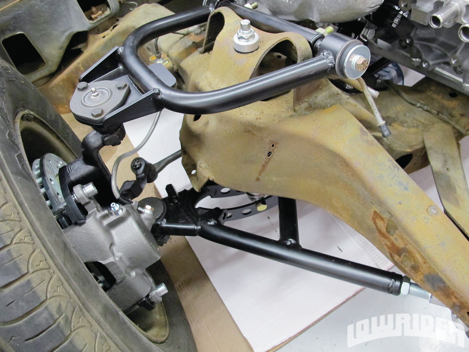 Ridetech Tubular Control Arms Amp Cpp Brake Kit Install