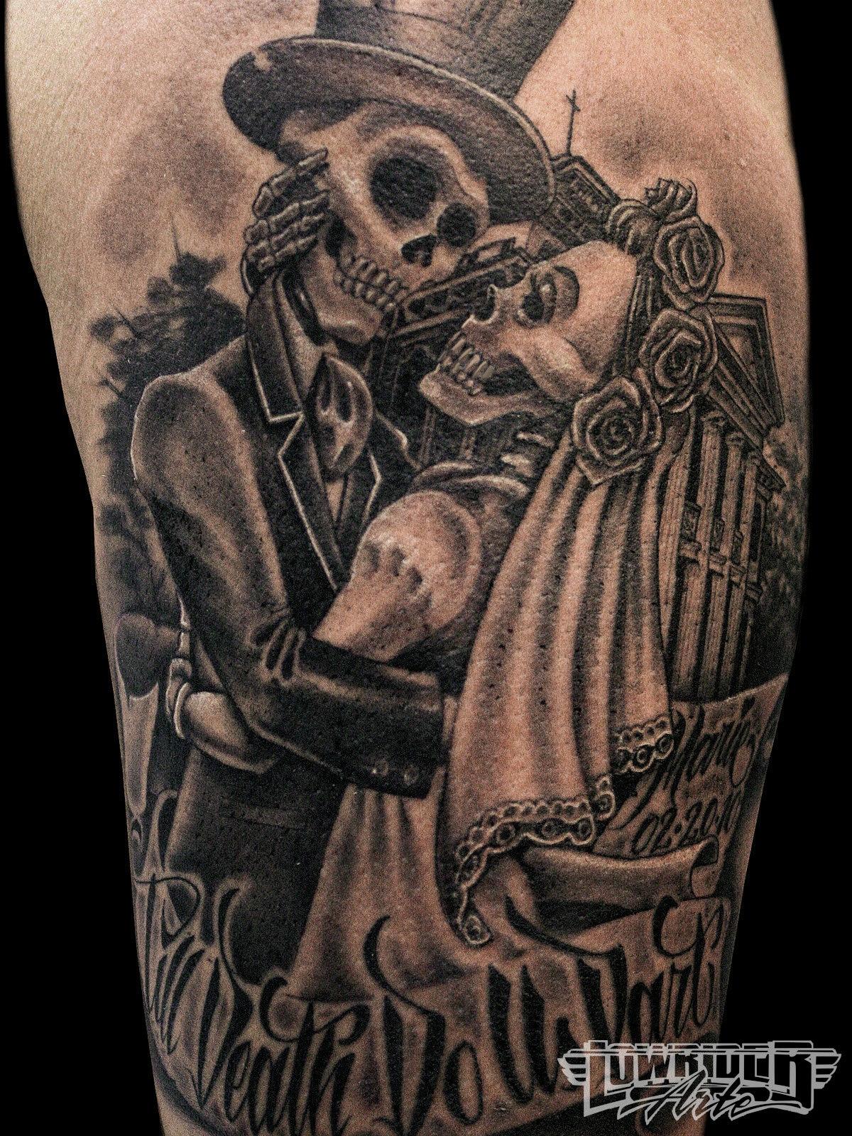 Till Death Do Us Part Tattoo Designs