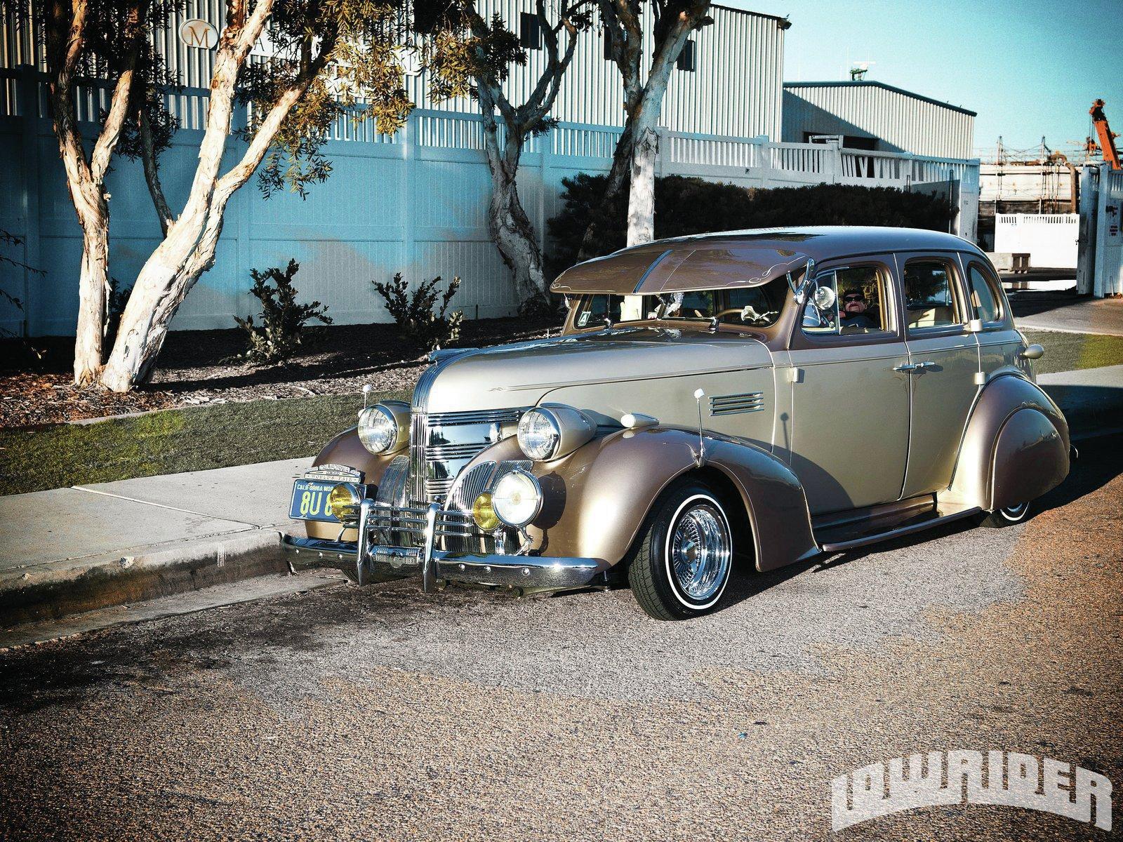 1939 Pontiac Chieftain Lowrider Magazine