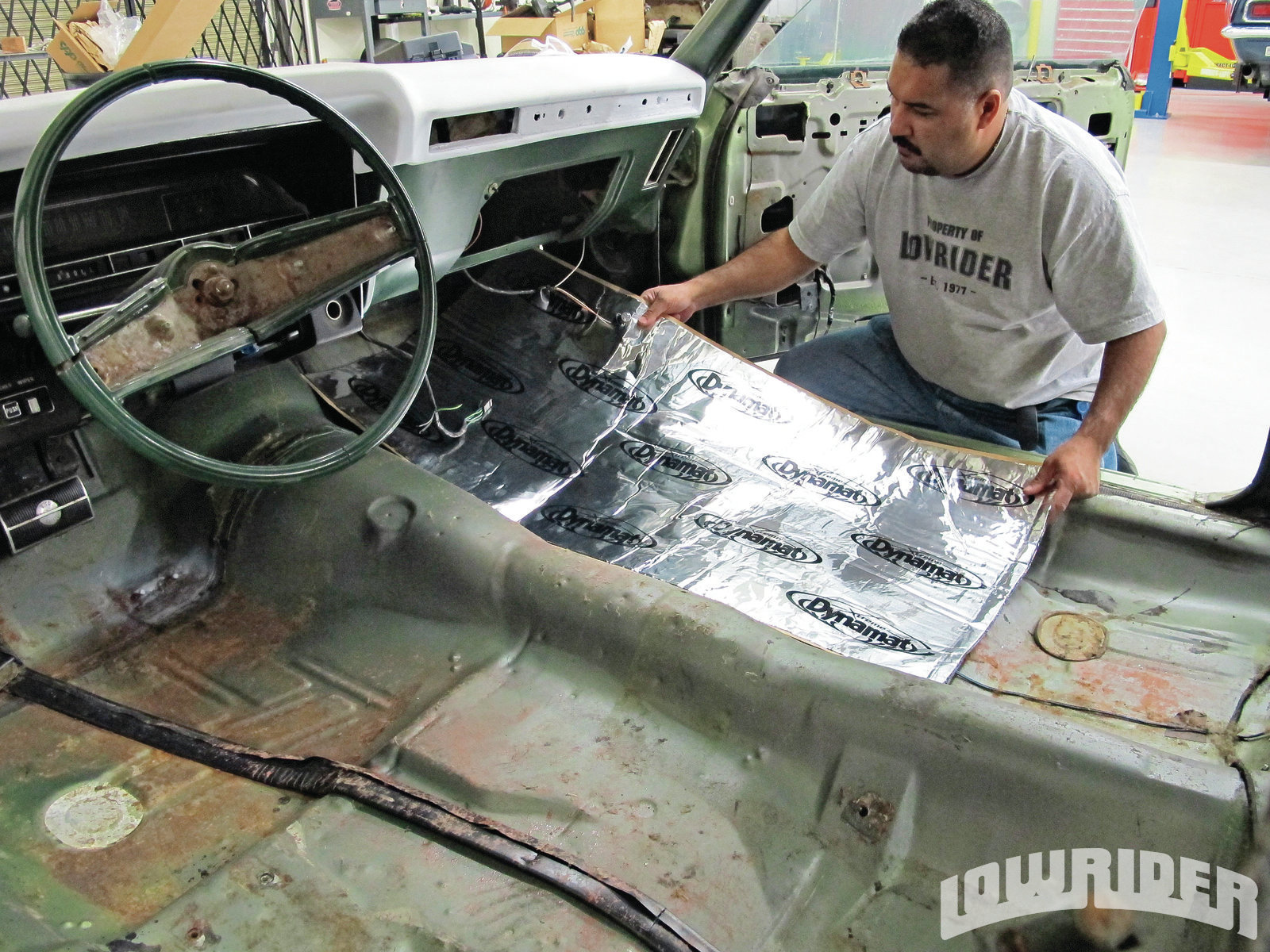Dynamat Xtreme Sound Deadening Material Lowrider Magazine