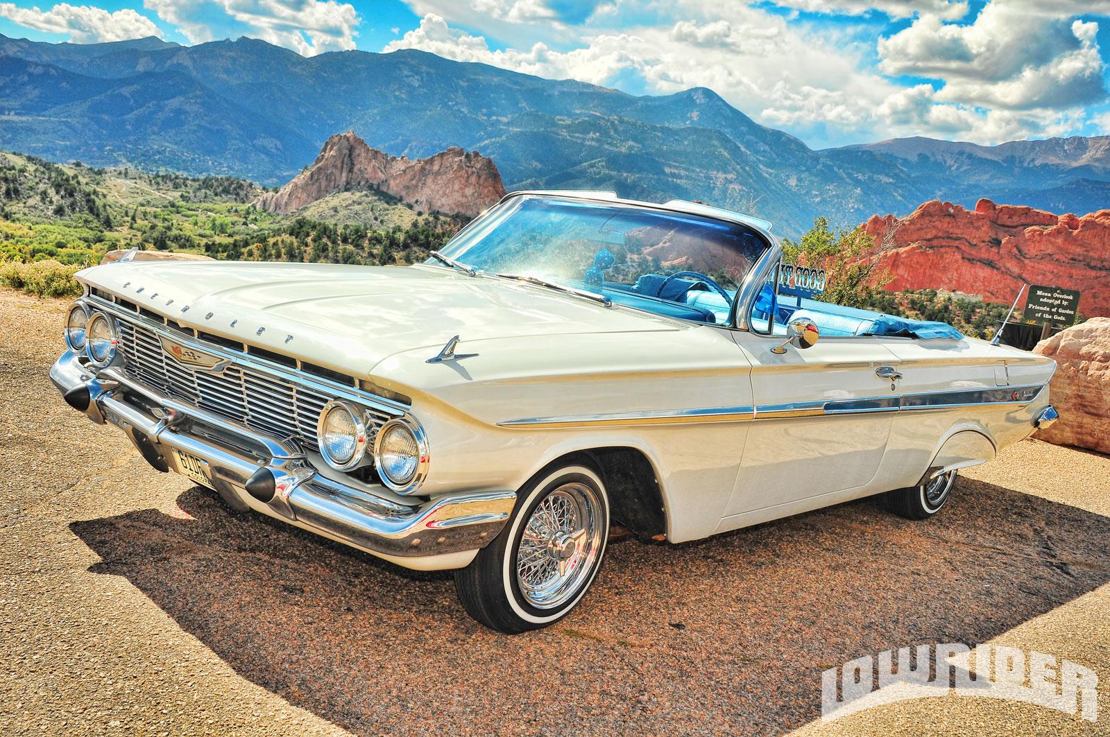 1961 Chevrolet Impala Convertible & 1959 Chevrolet Impala Convertible - Lowrider Magazine