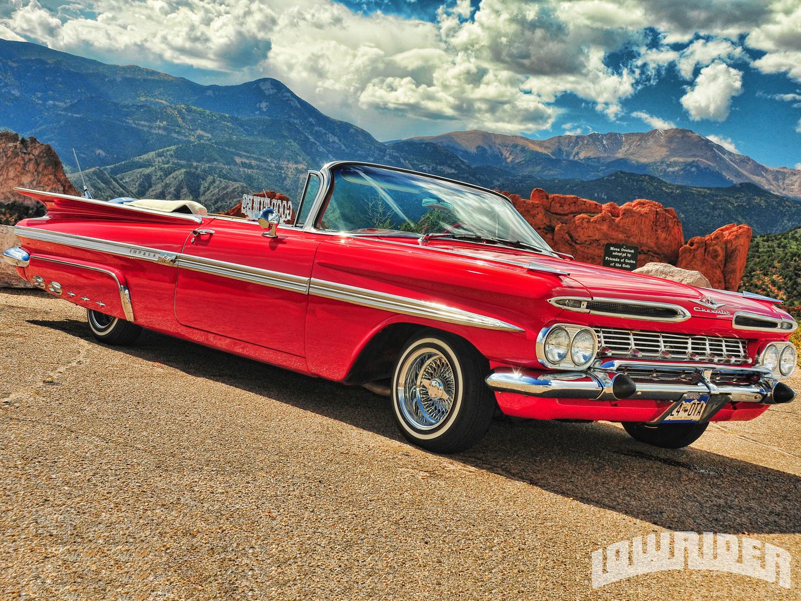1961 Chevrolet Impala Convertible & 1959 Chevrolet Impala ...