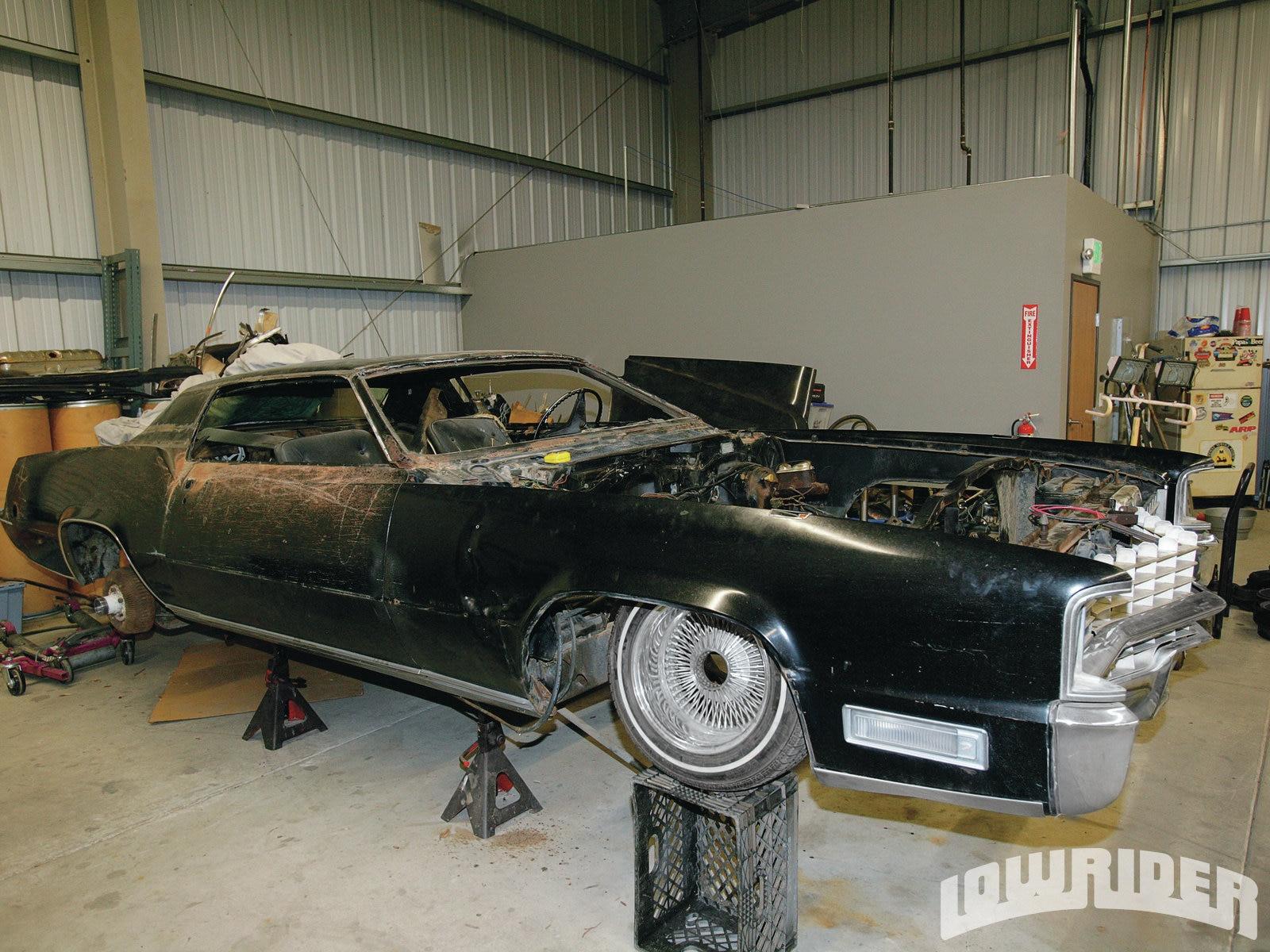 project cadillac el dorado lowrider magazine 59 Cadillac Eldorado 5 15