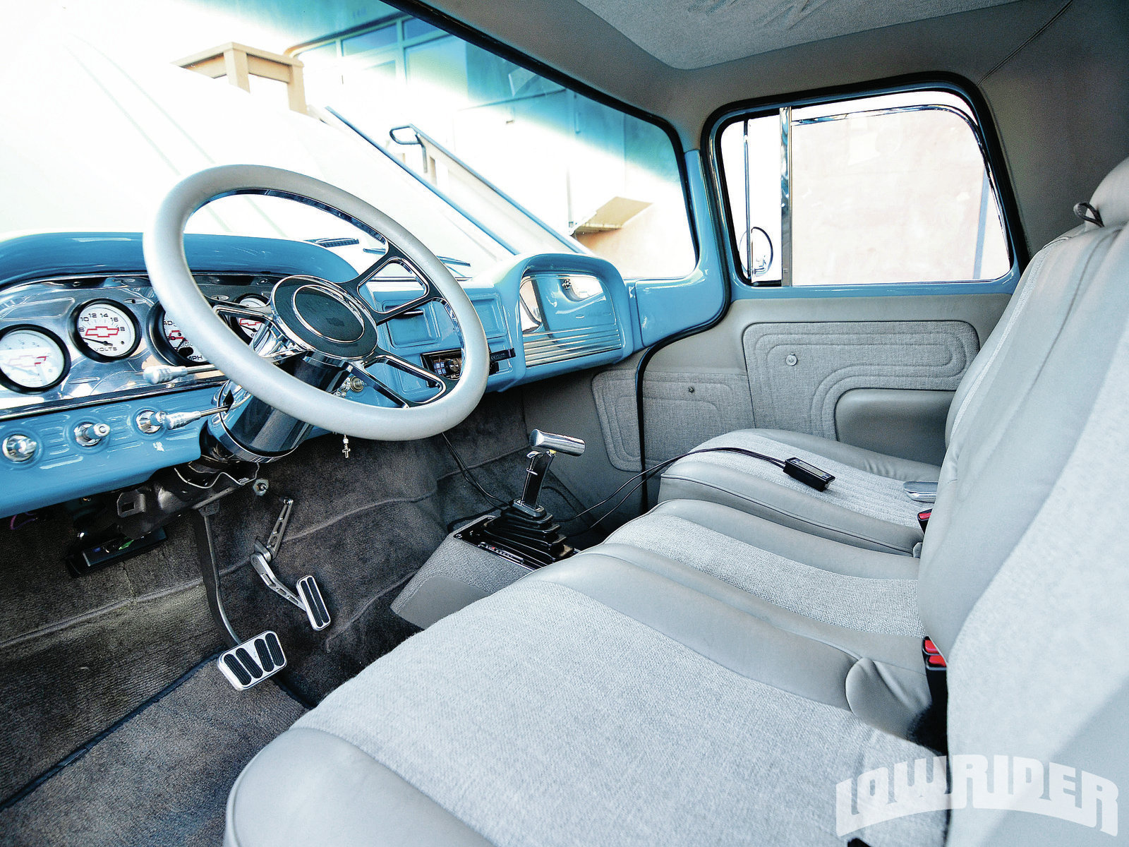 Lrmp O Chevrolet Truck Interior on 1960 chevy panel truck