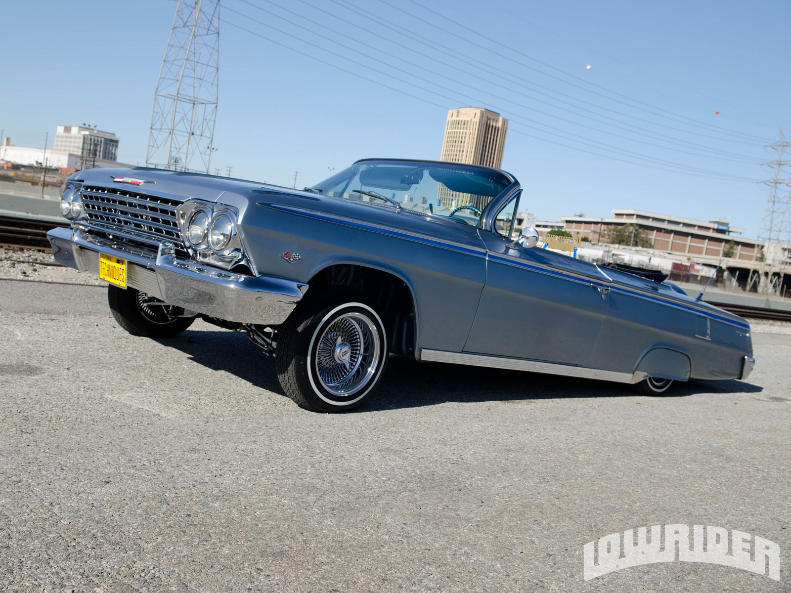 1962 Chevrolet Impala Convertible Only The Strong Survive