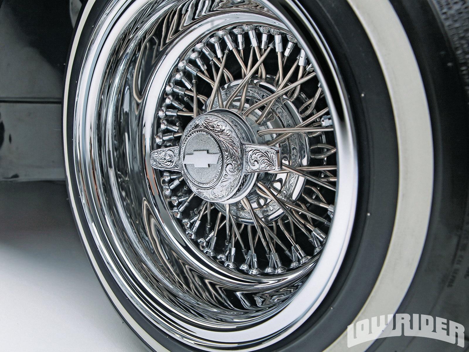 Lrmp O Chevrolet Bel Air Cross Laced Zenith Wheel
