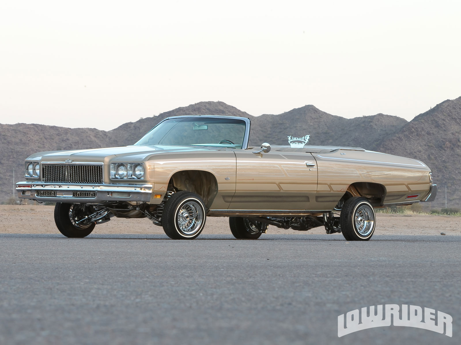 1975 Chevrolet Caprice Convertible - Lowrider Magazine