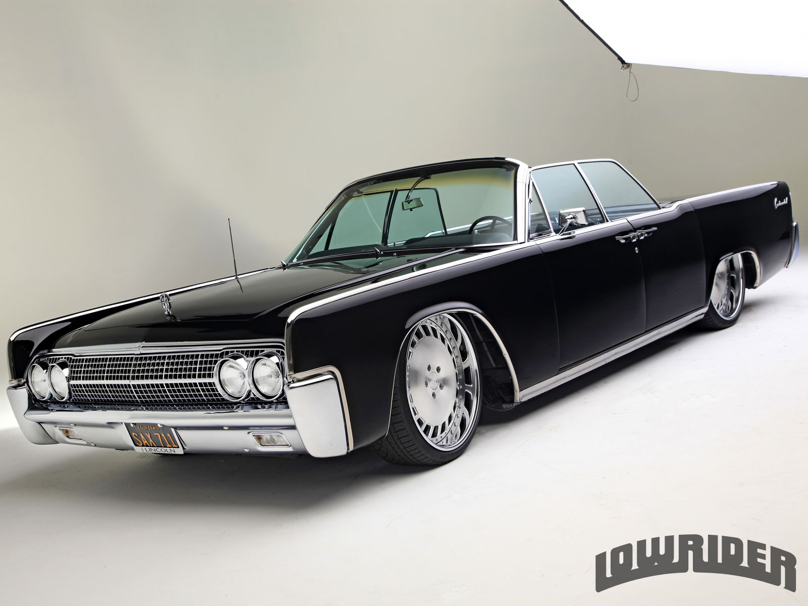 1963 Lincoln Continental Convertible - Lowrider Magazine