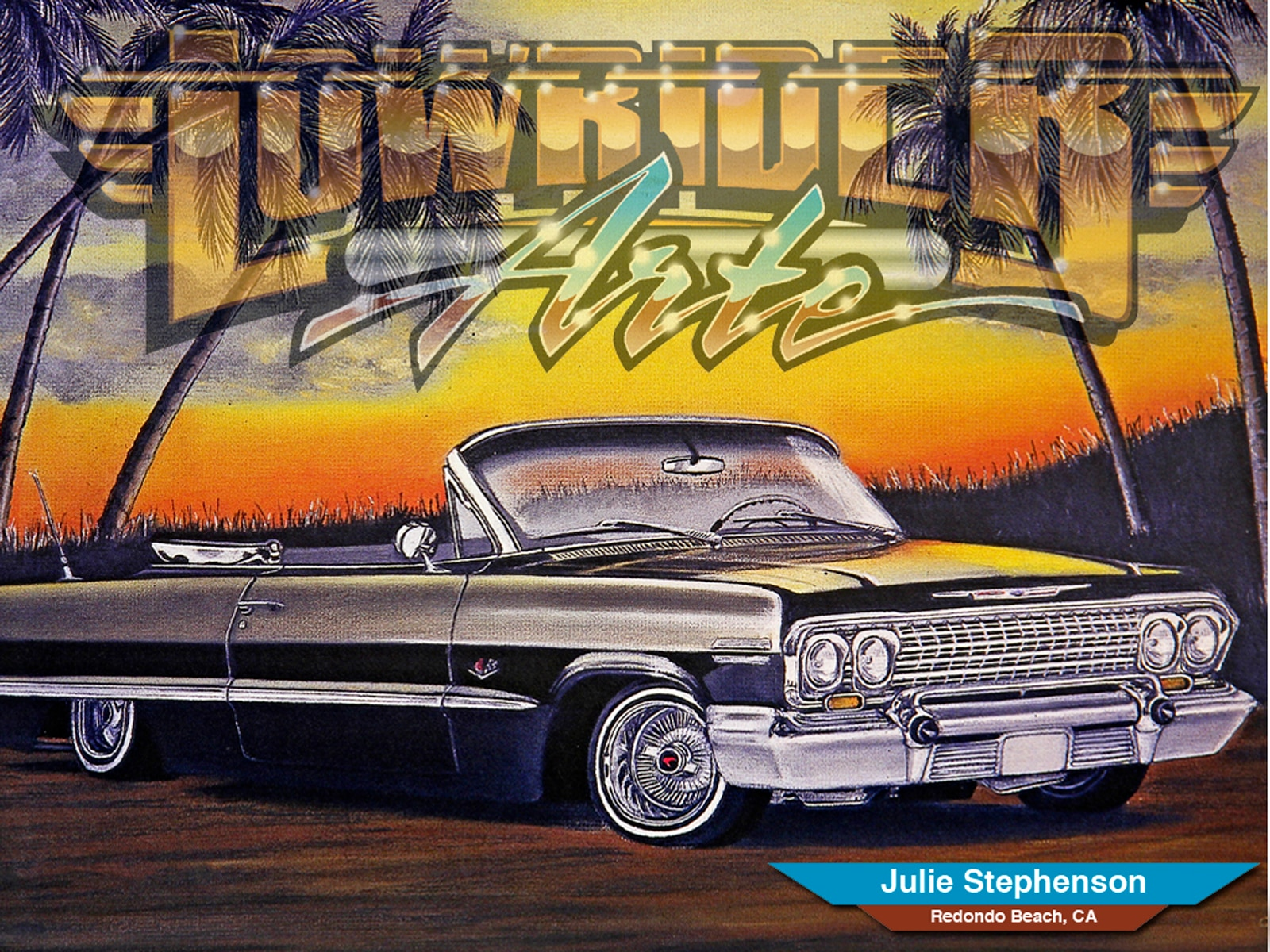 Wallpaper Julie Stephenson - Lowrider