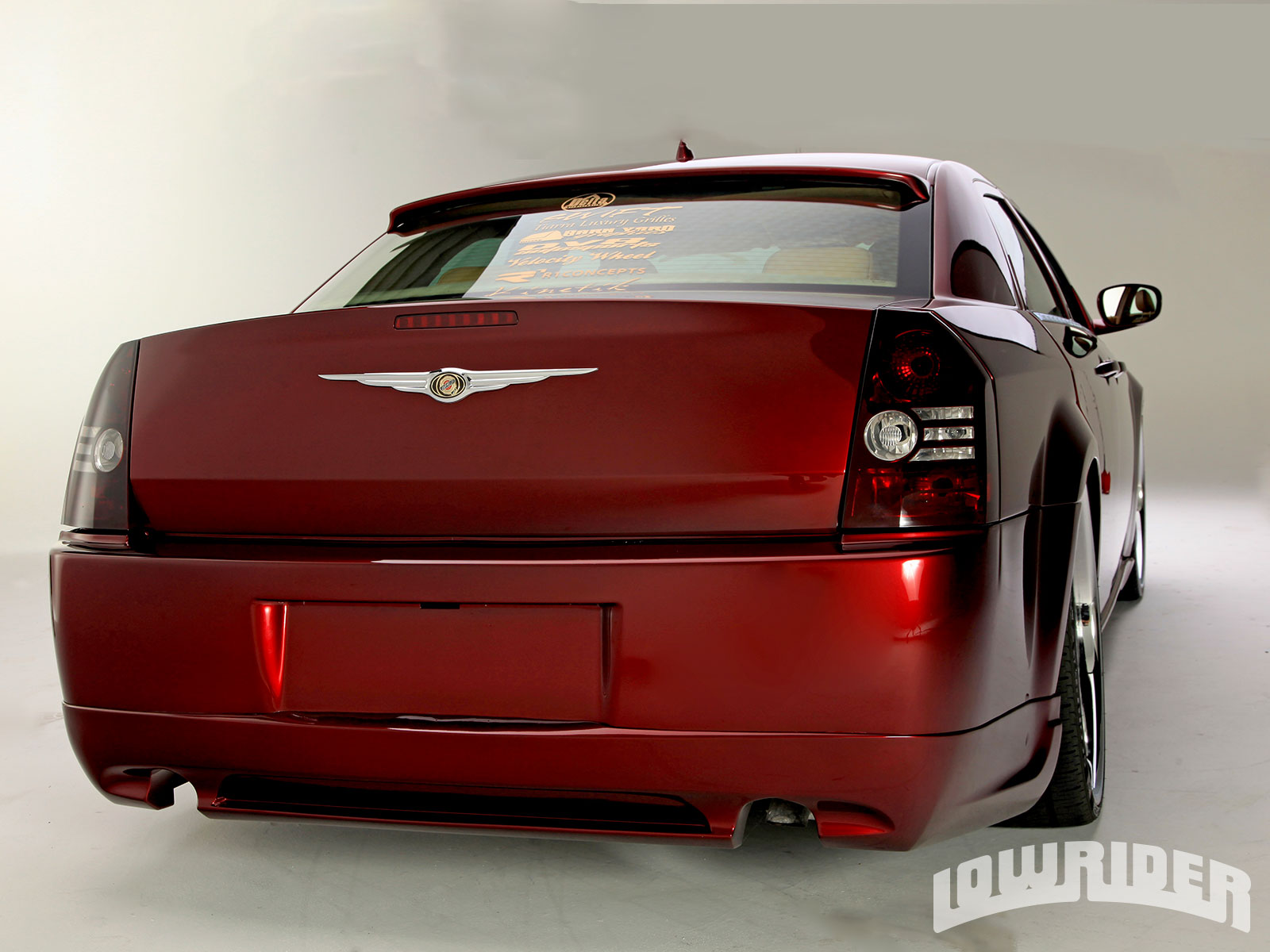 1302 Lrmp 03 O 2008 Chrysler 300 House Of Kolors Kandy Apple Red