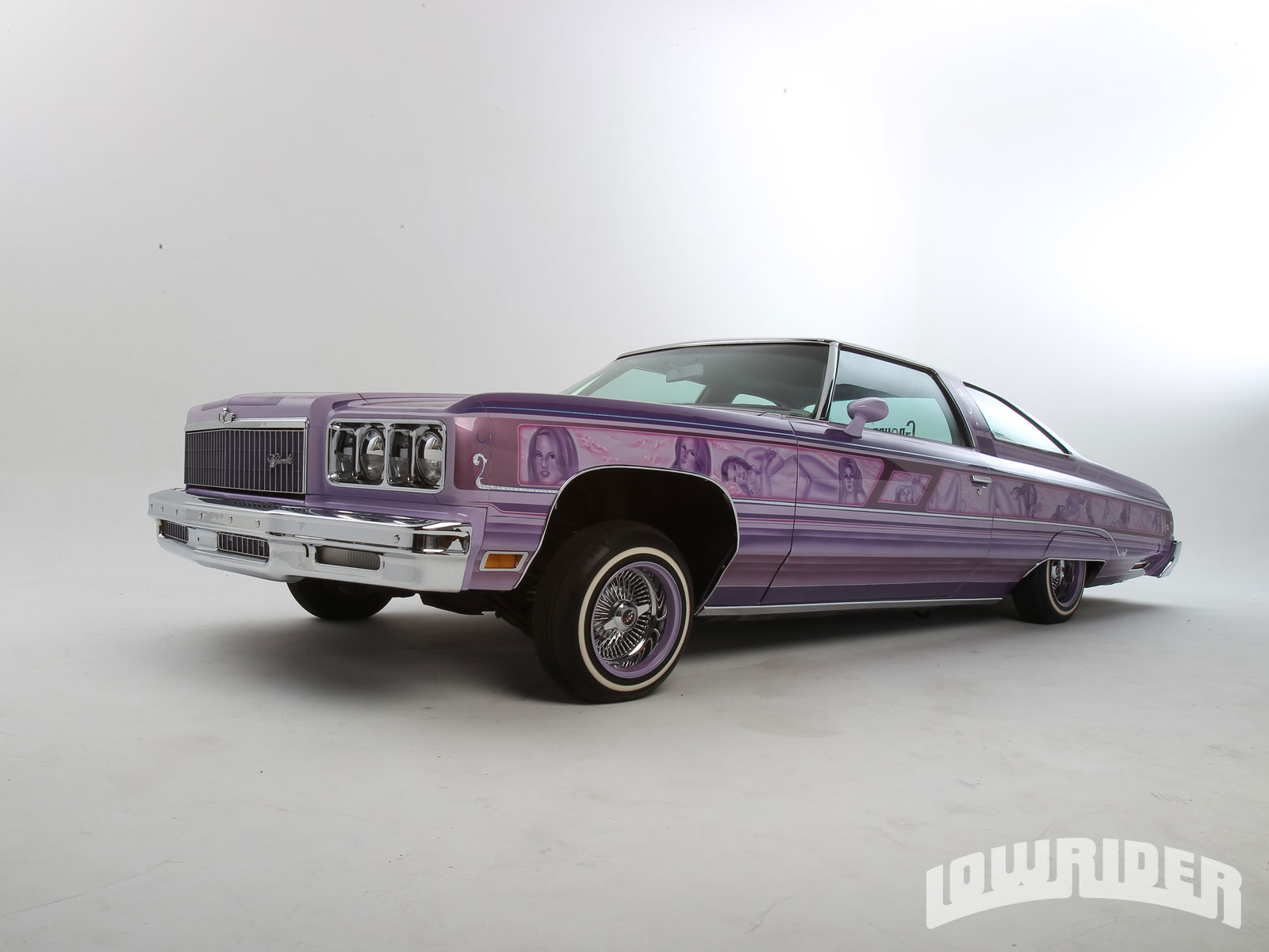 1975 Chevrolet Impala Glasshouse - Lowrider Magazine