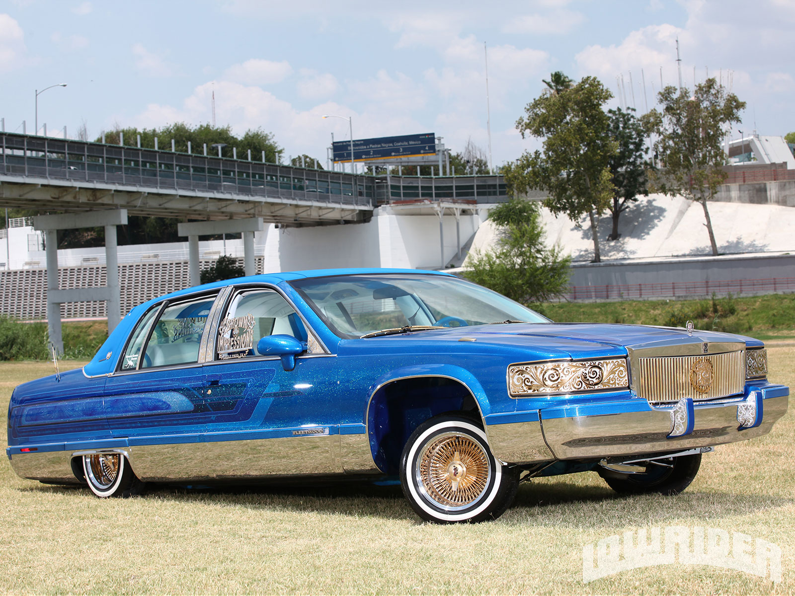 Lrmp O Cadillac Fleetwood Front Right Side View