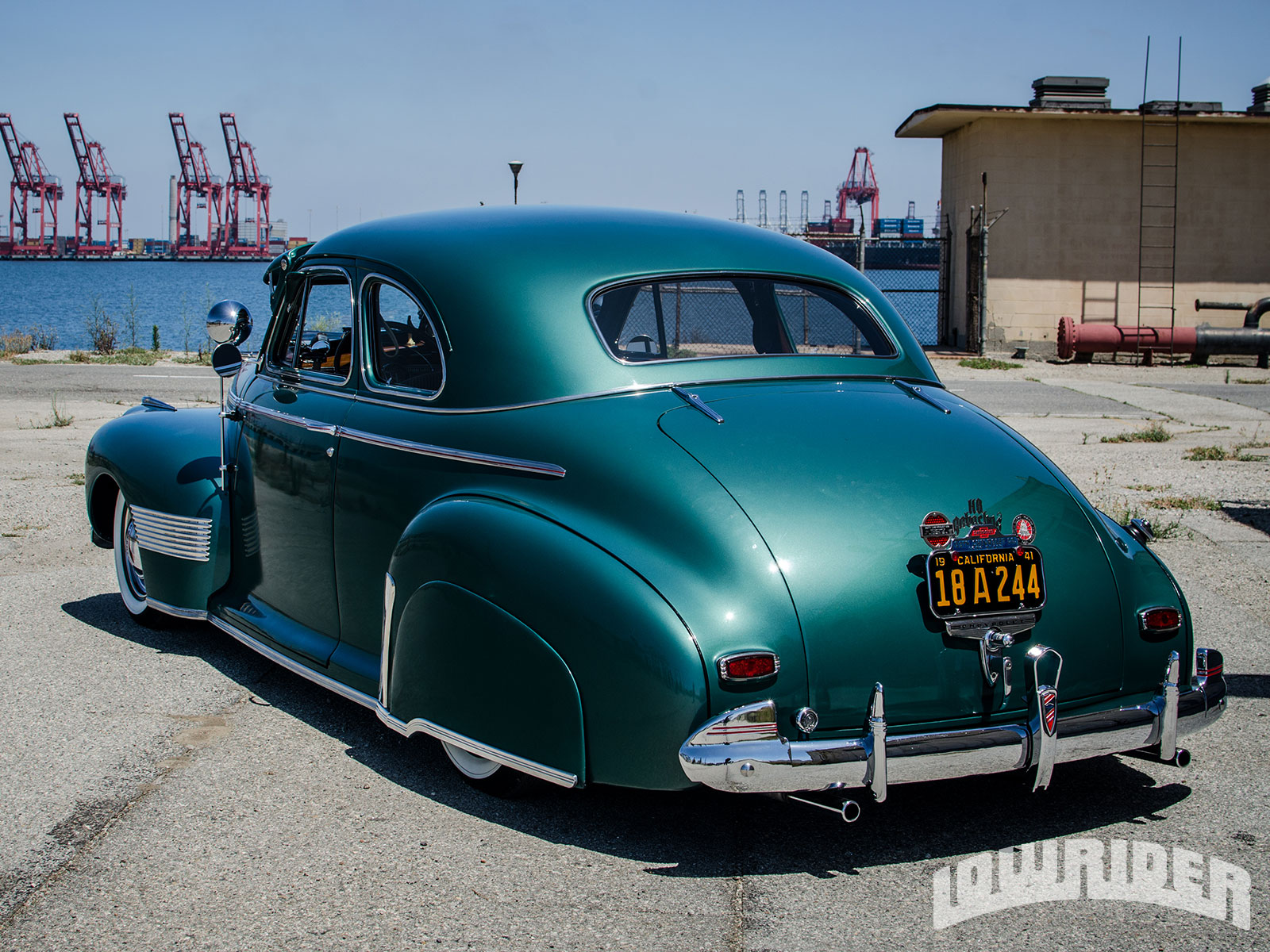 1941 Chevy Deluxe Coupe - The Sequel - Lowrider Magazine