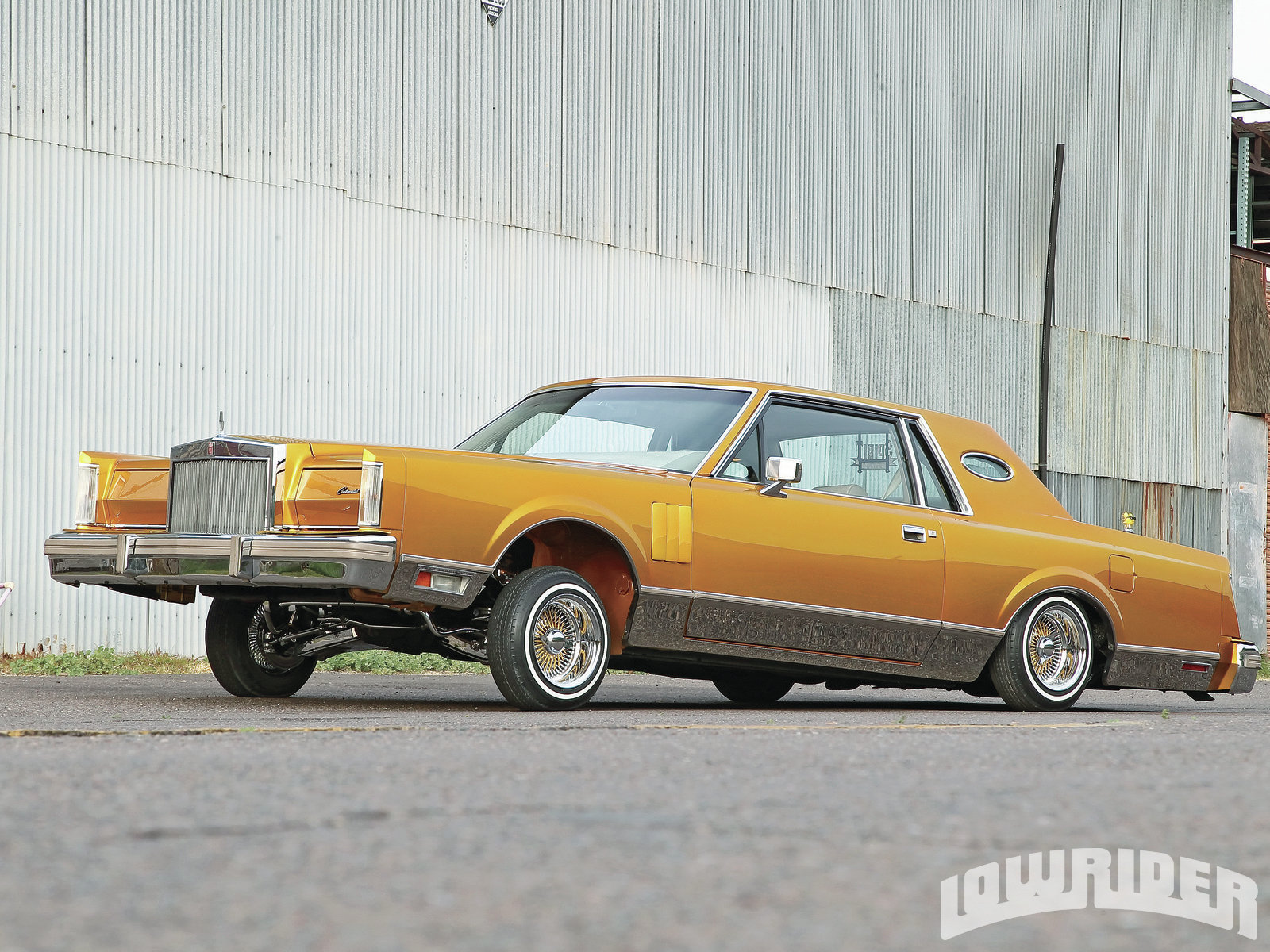 1983 Lincoln Continental - Lowrider Magazine