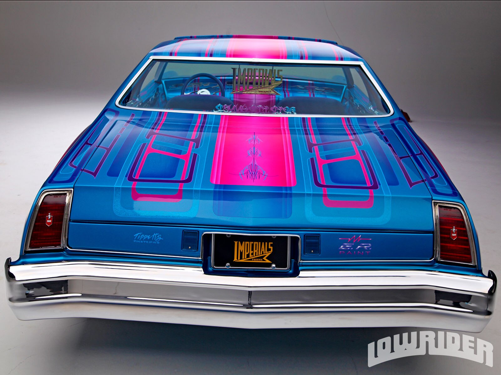 Lrmp O Chevrolet Monte Carlo Rear End