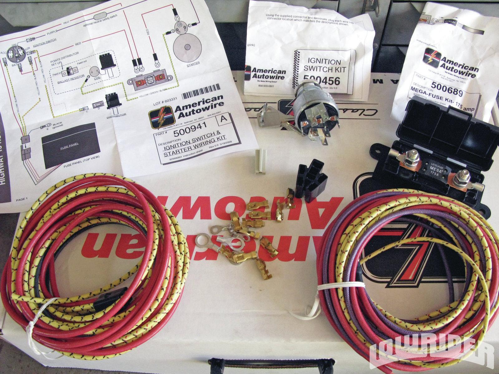 Highway 15 Wiring Harness Diagram American Auto Wire Autowire Nostalgia Kit Lowrider Magazinehighway 7