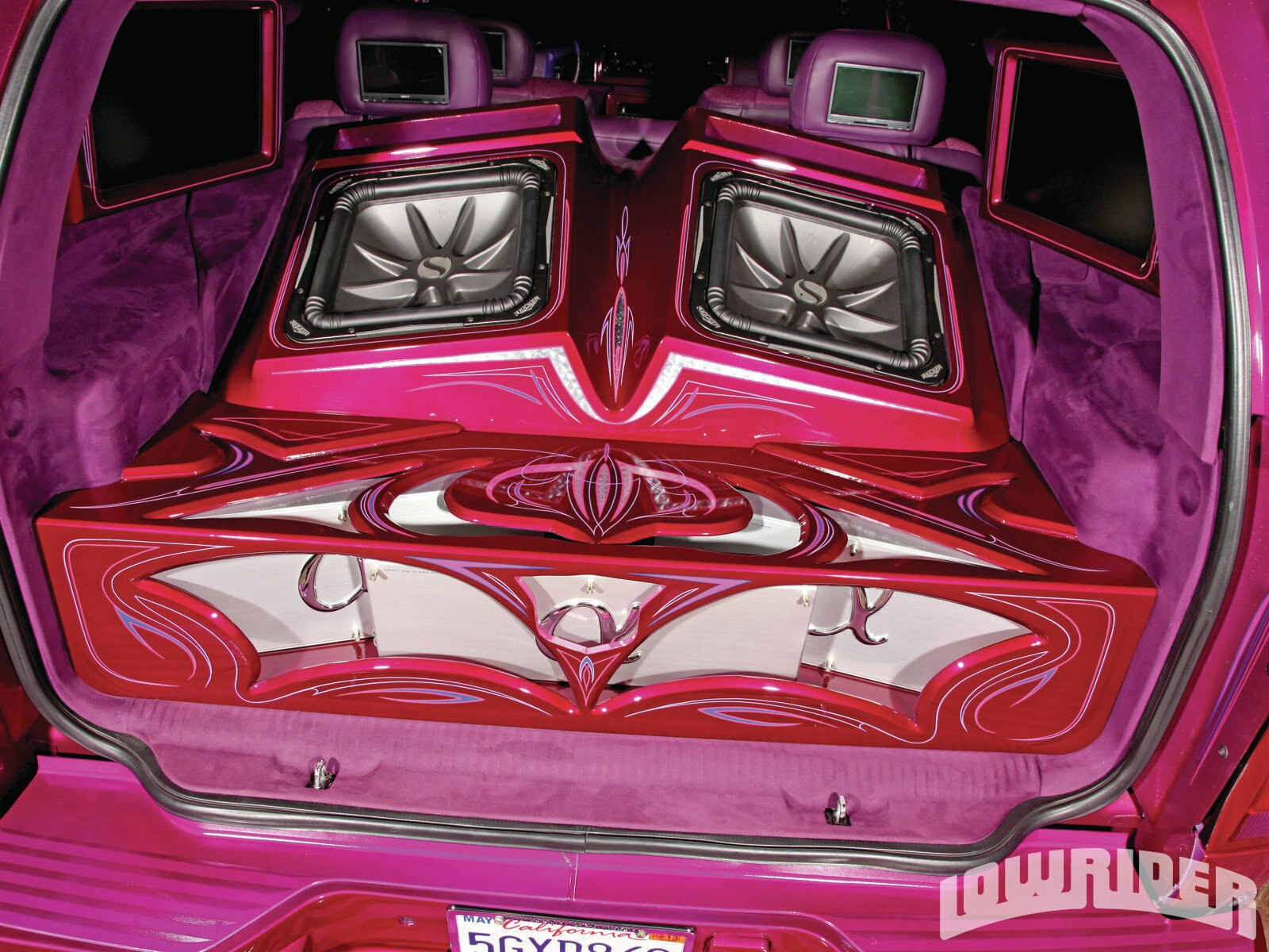 2002 Cadillac Escalade - Sweet Temptation - Lowrider Magazine